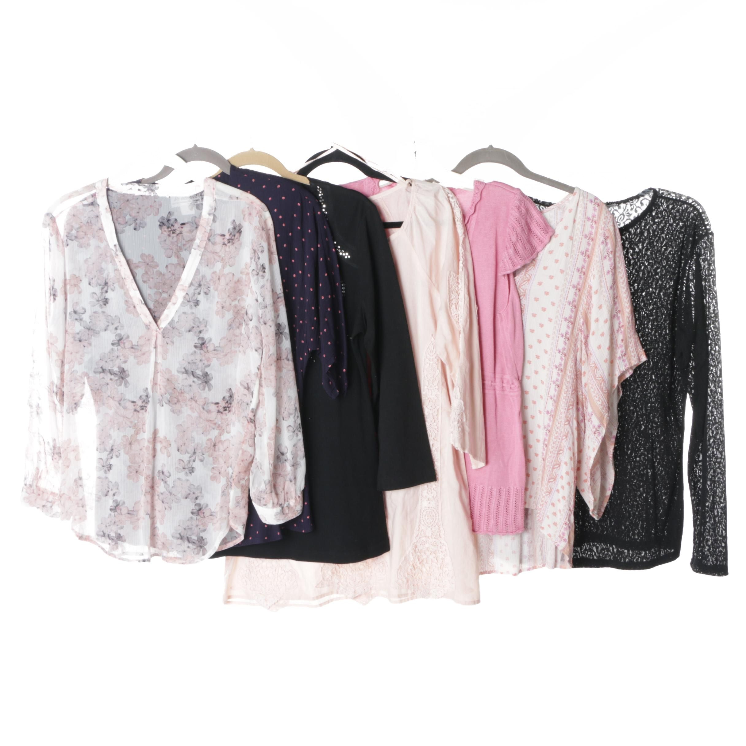 Women's Tops Including V Cristina and Bugle Boy Gold Crest