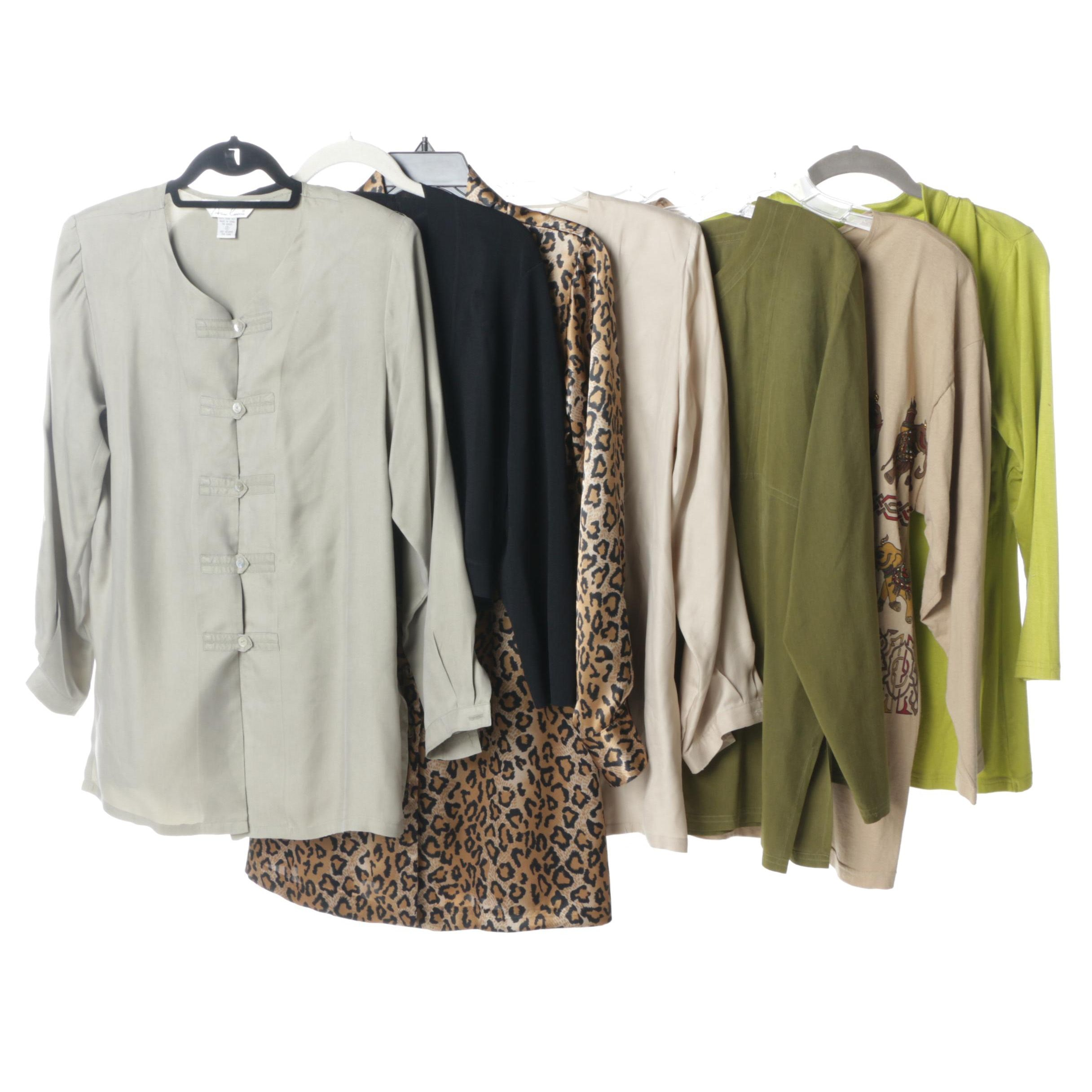 Collection of Women's Tops and Blouses