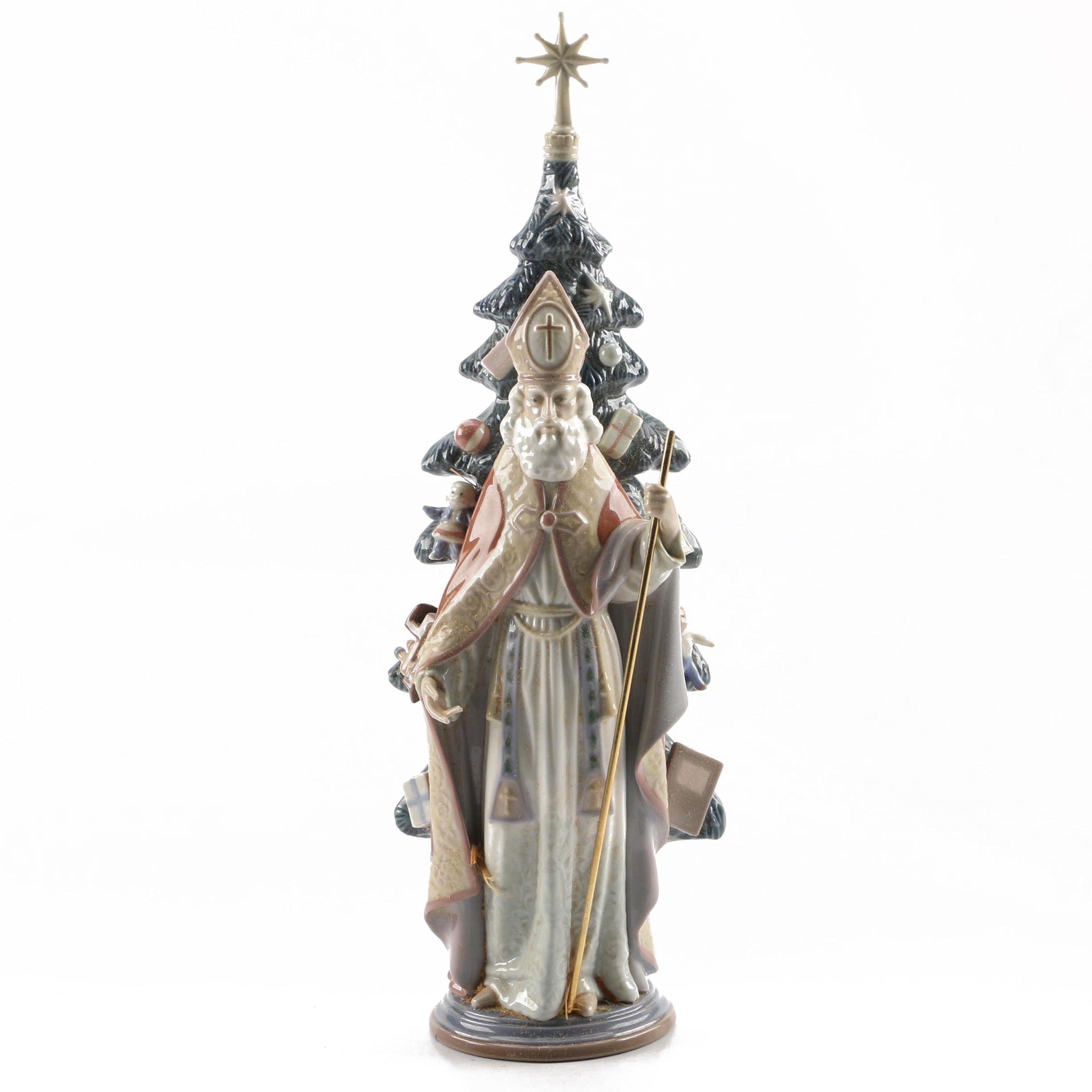 Lladro St. Nicolas Figurine