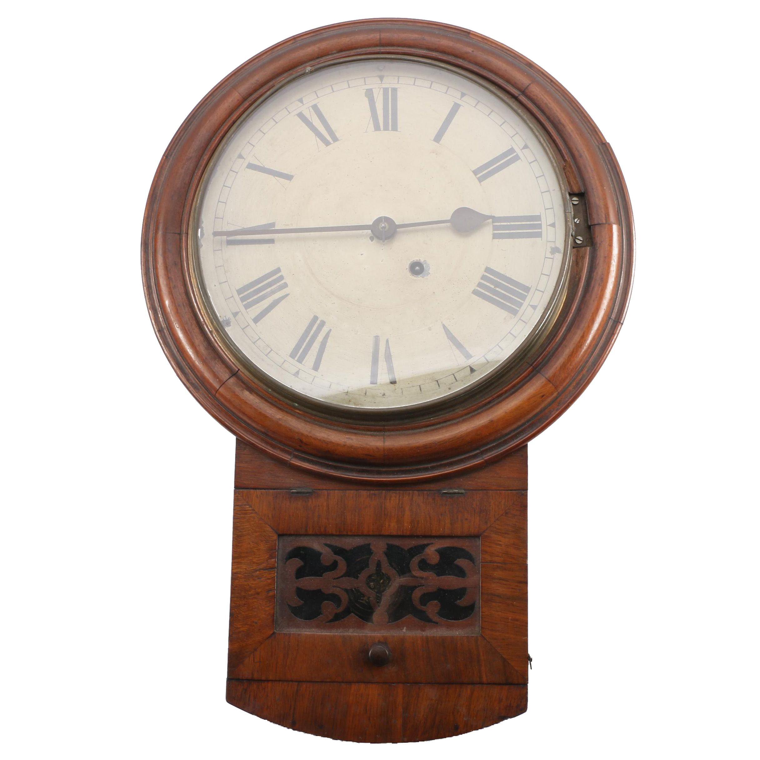 Antique Ganter Bros. Wall Clock