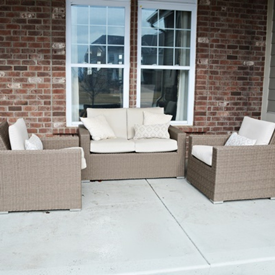 view chairs sets outdoor table patio bradenton wicker navy and brown nv jsp loveseat furniture rcwilley arm