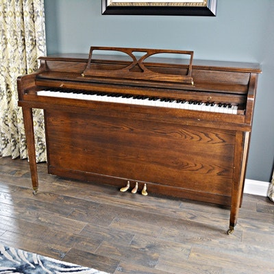 American Craftsman by Aeolian Corporation Spinet Piano