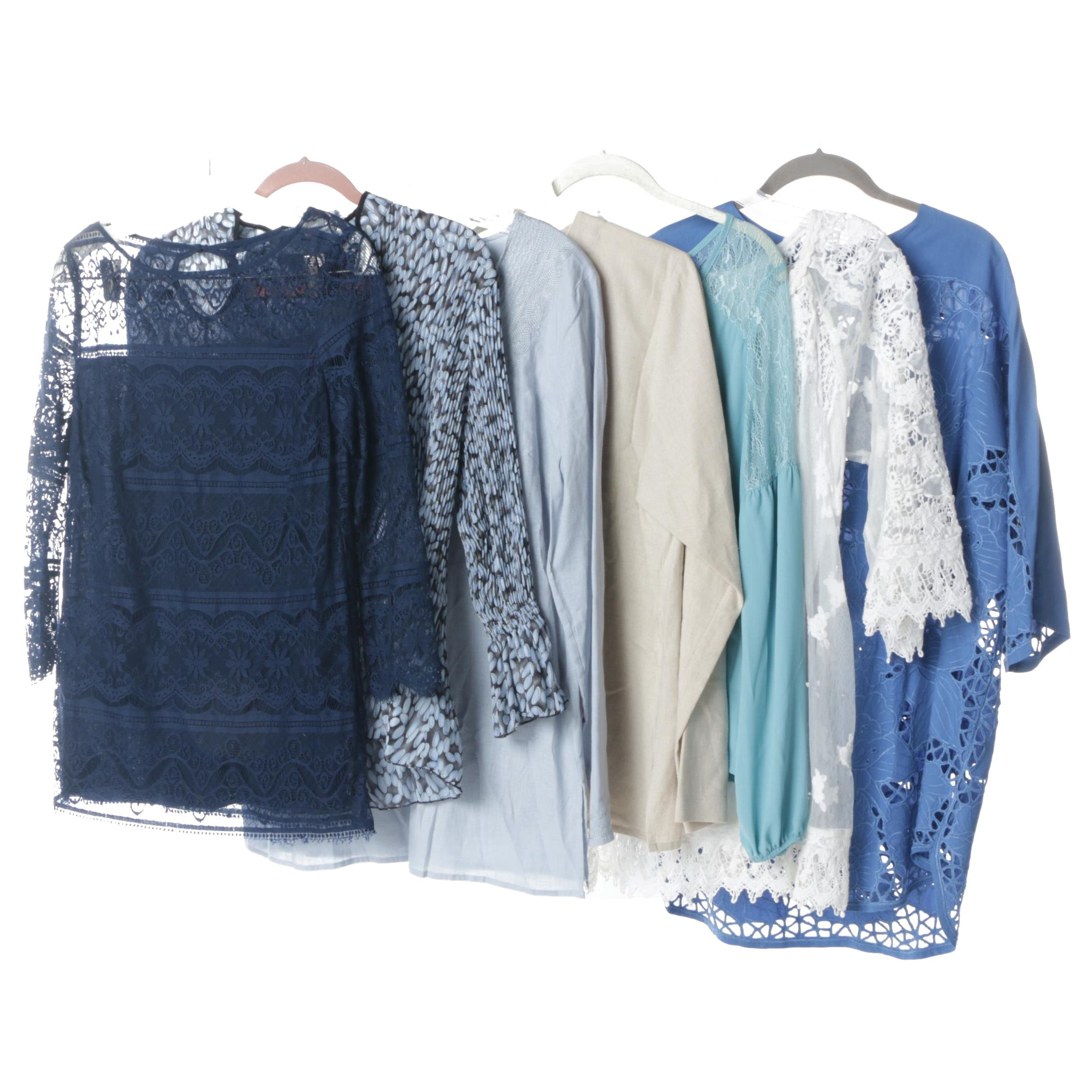 Women's Tops and Tunics Including Lilly Mason and Kenar