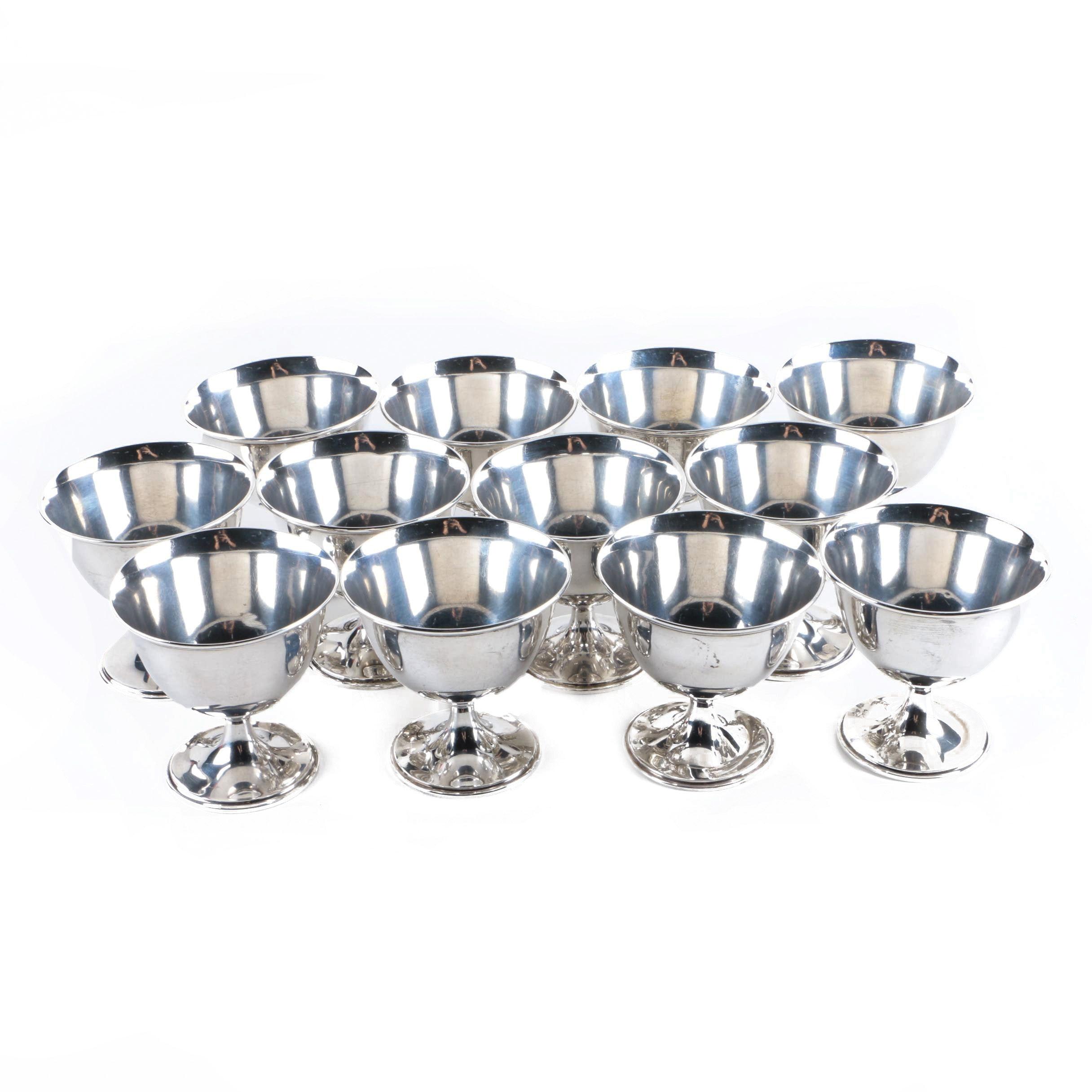 International Silver Co. Sterling Silver Sherbet Cups