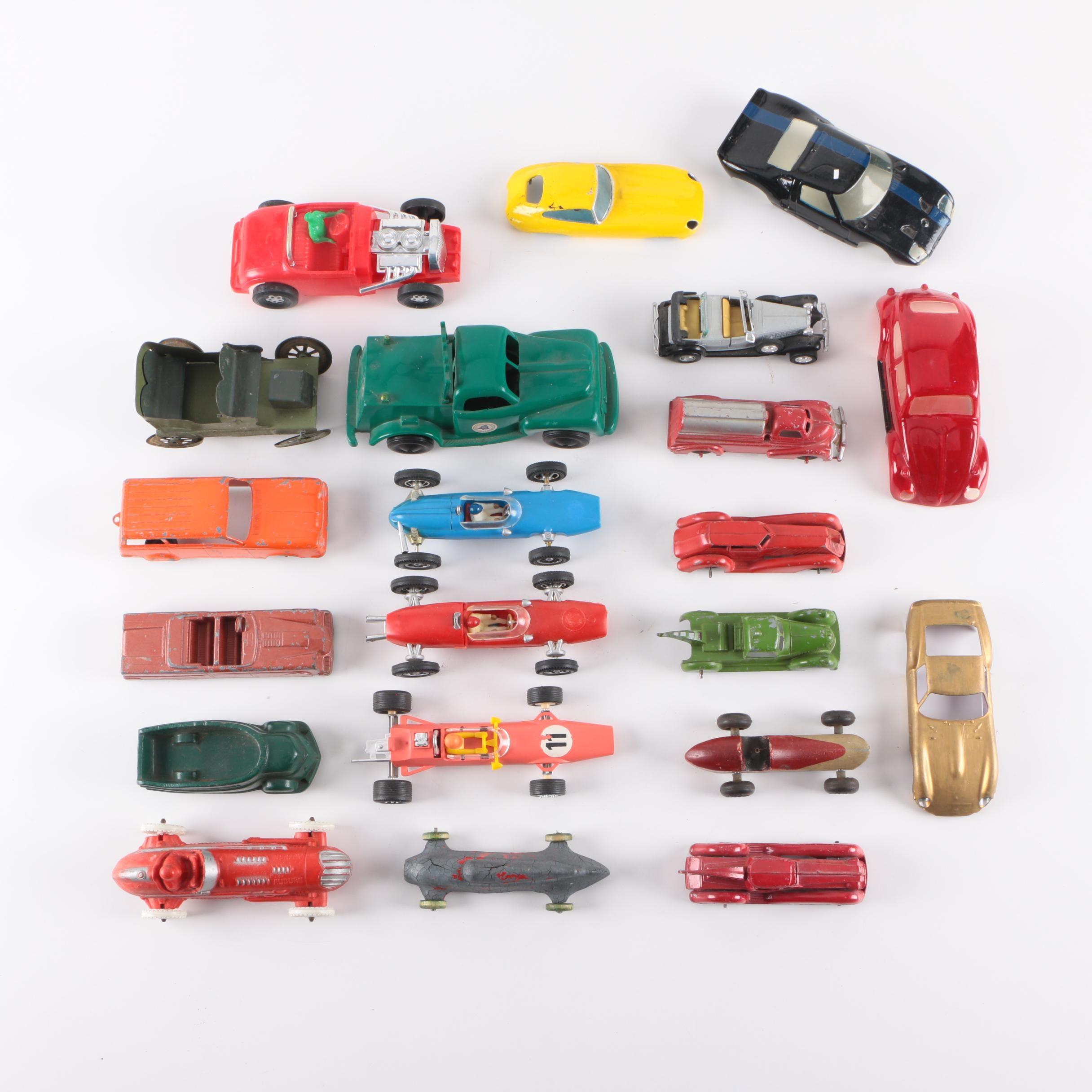 Vintage Cars and Trucks Including Hubley