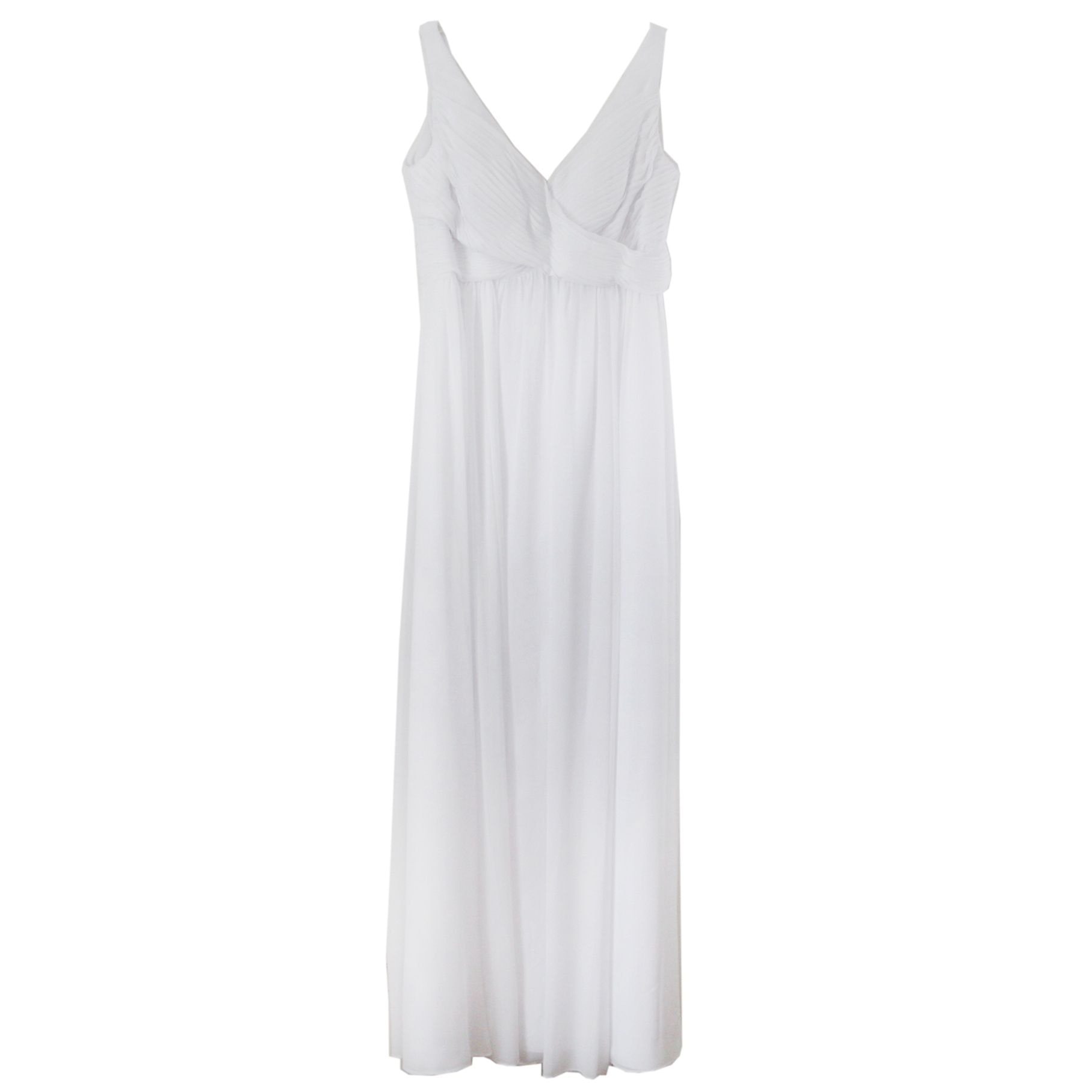 Wtoo Sleeveless Occasion Gown in White