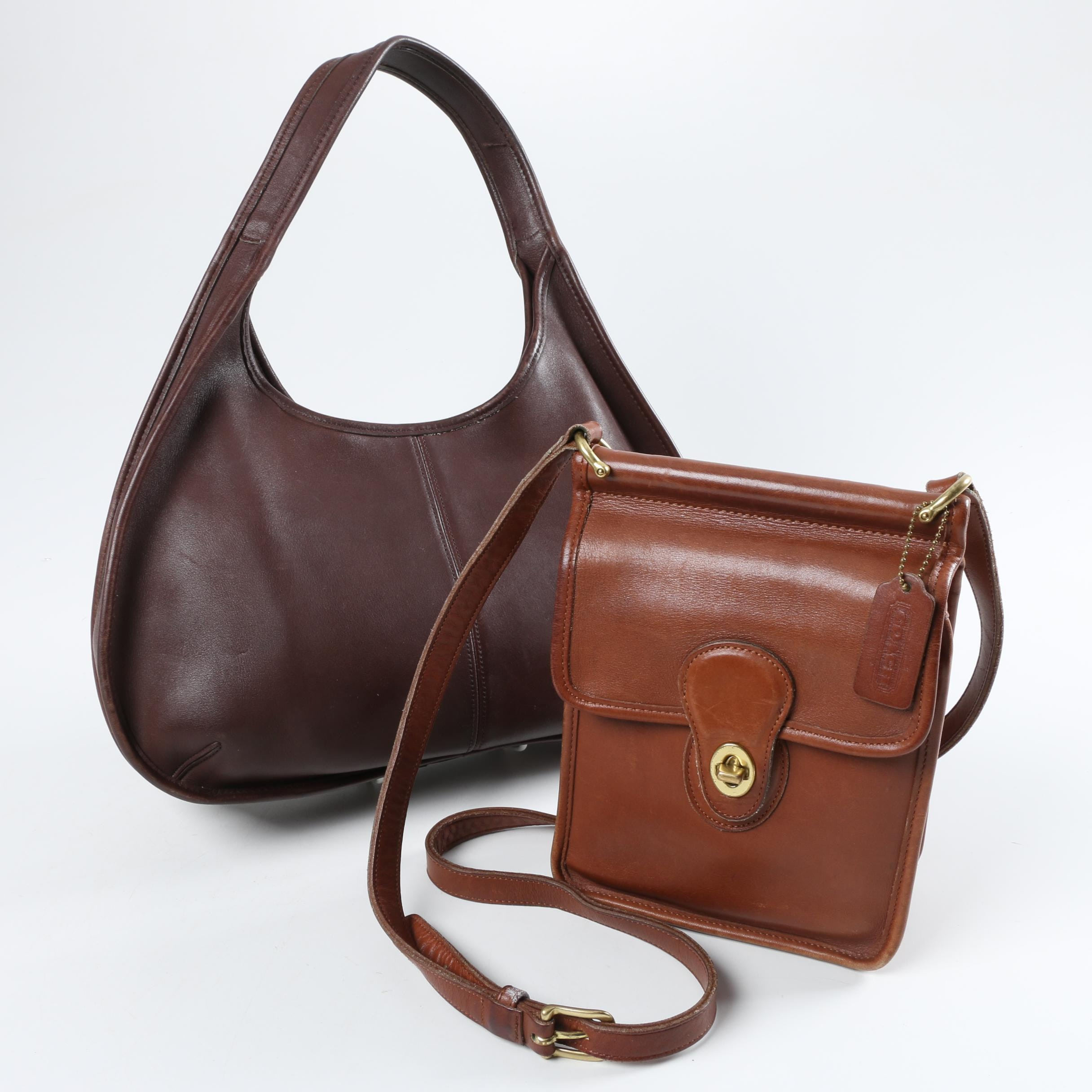 Vintage Coach Handbags Including a Coach Murphy Crossbody Bag