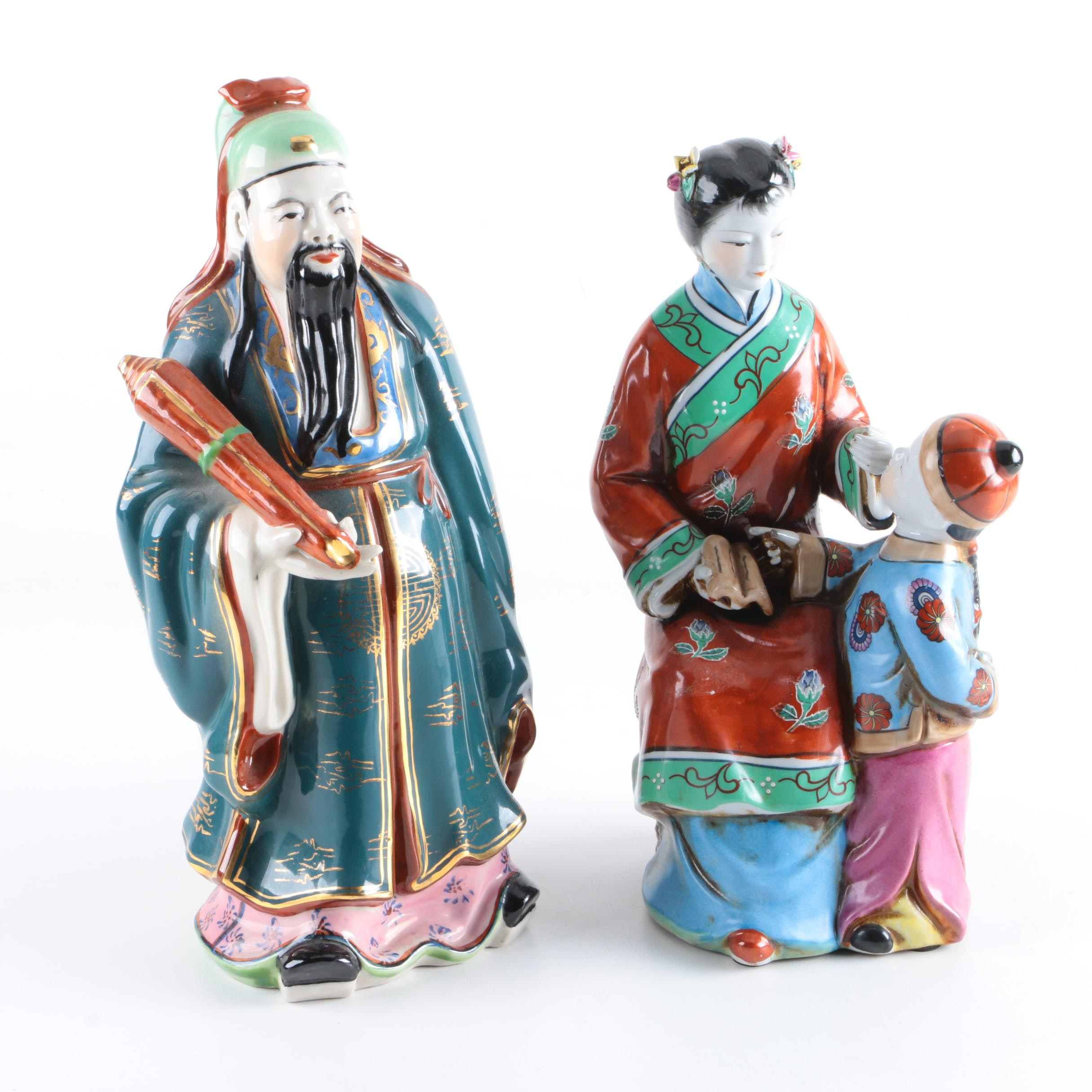Ceramic Chinese Figurines