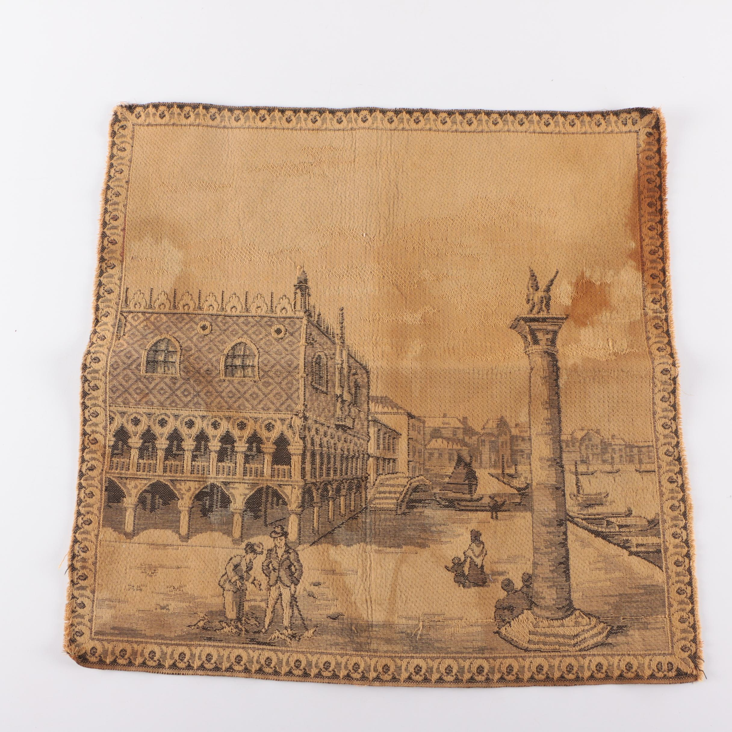 Vintage Tapestry of Venice