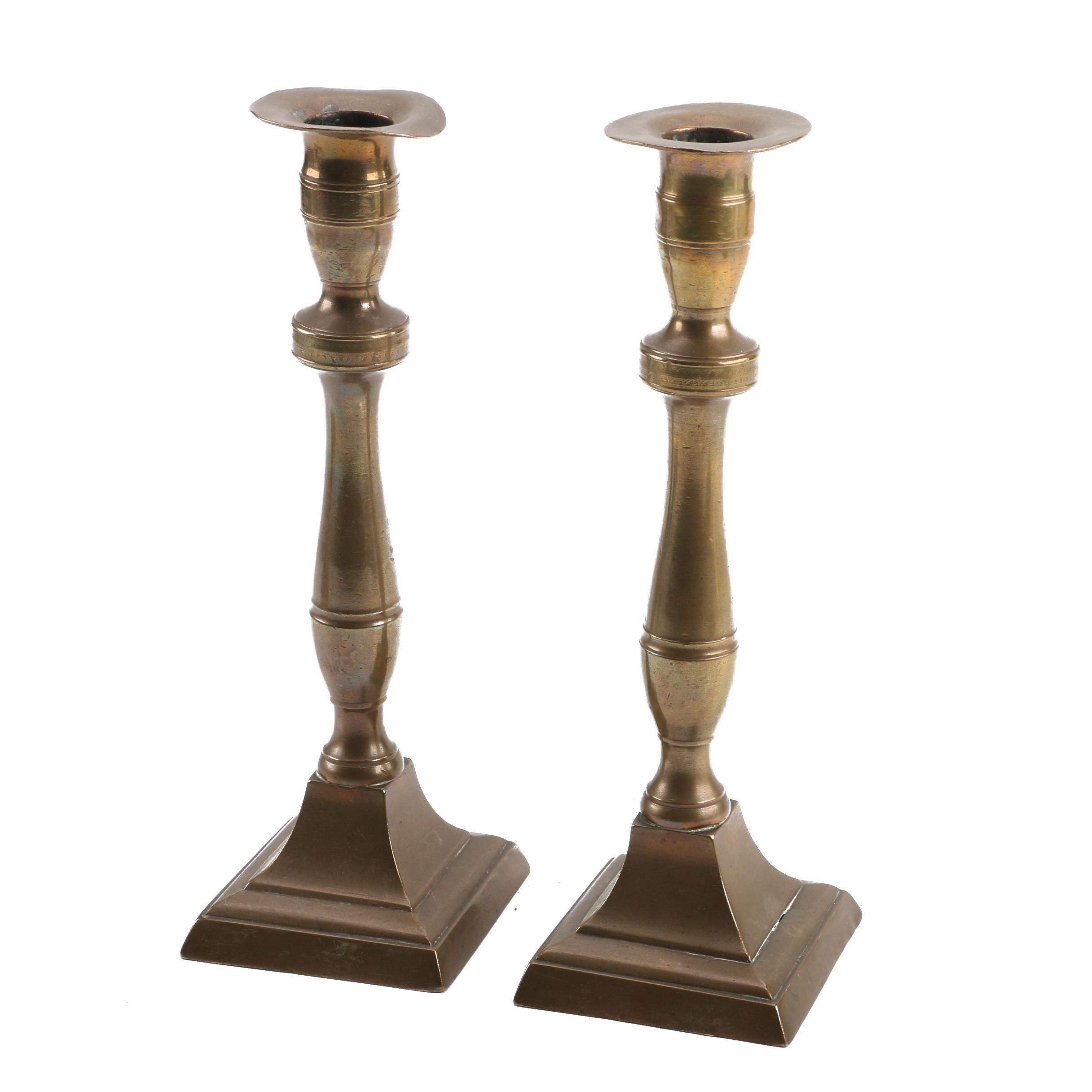Vintage Brass Candlesticks