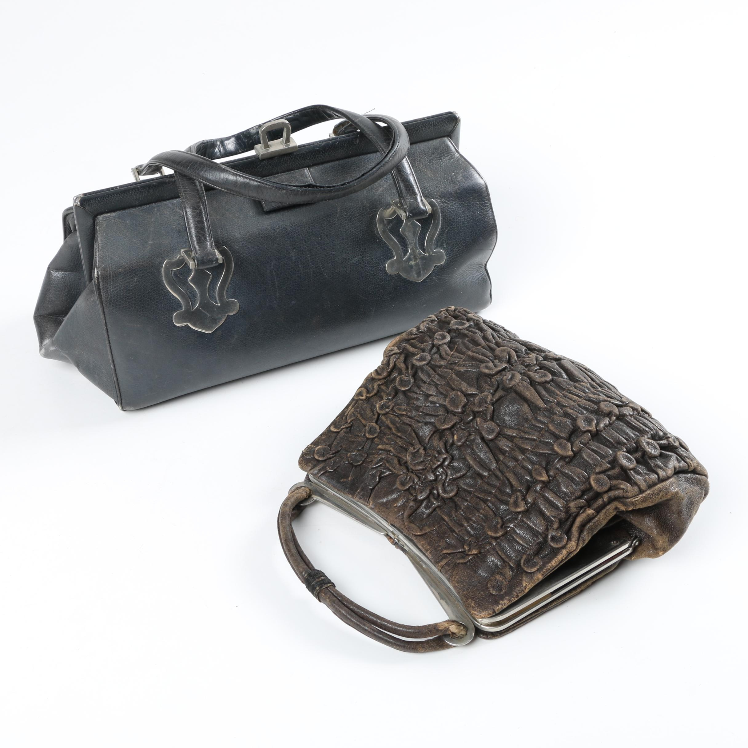 1930s Leather Handbags