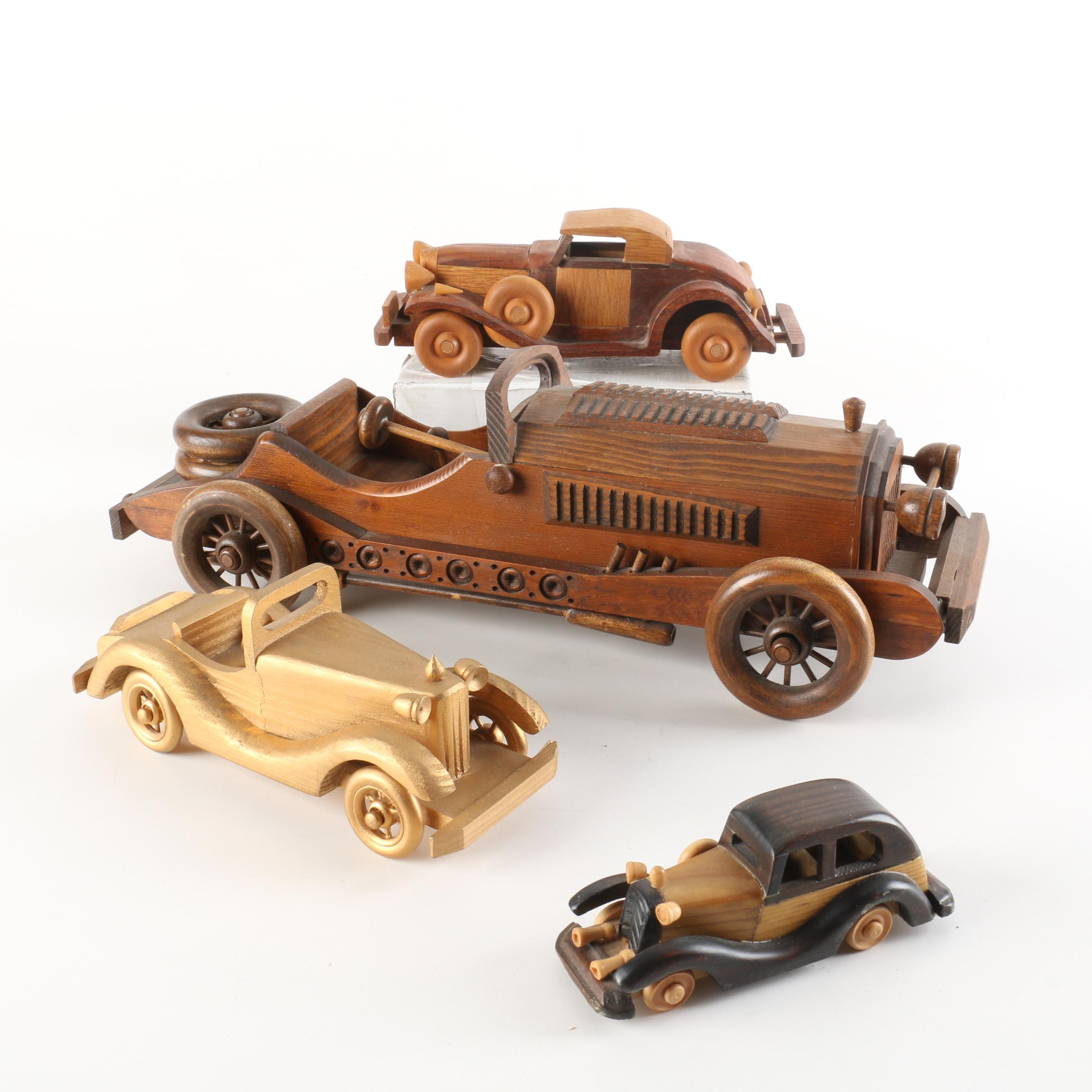 Wooden Classic Vintage Cars