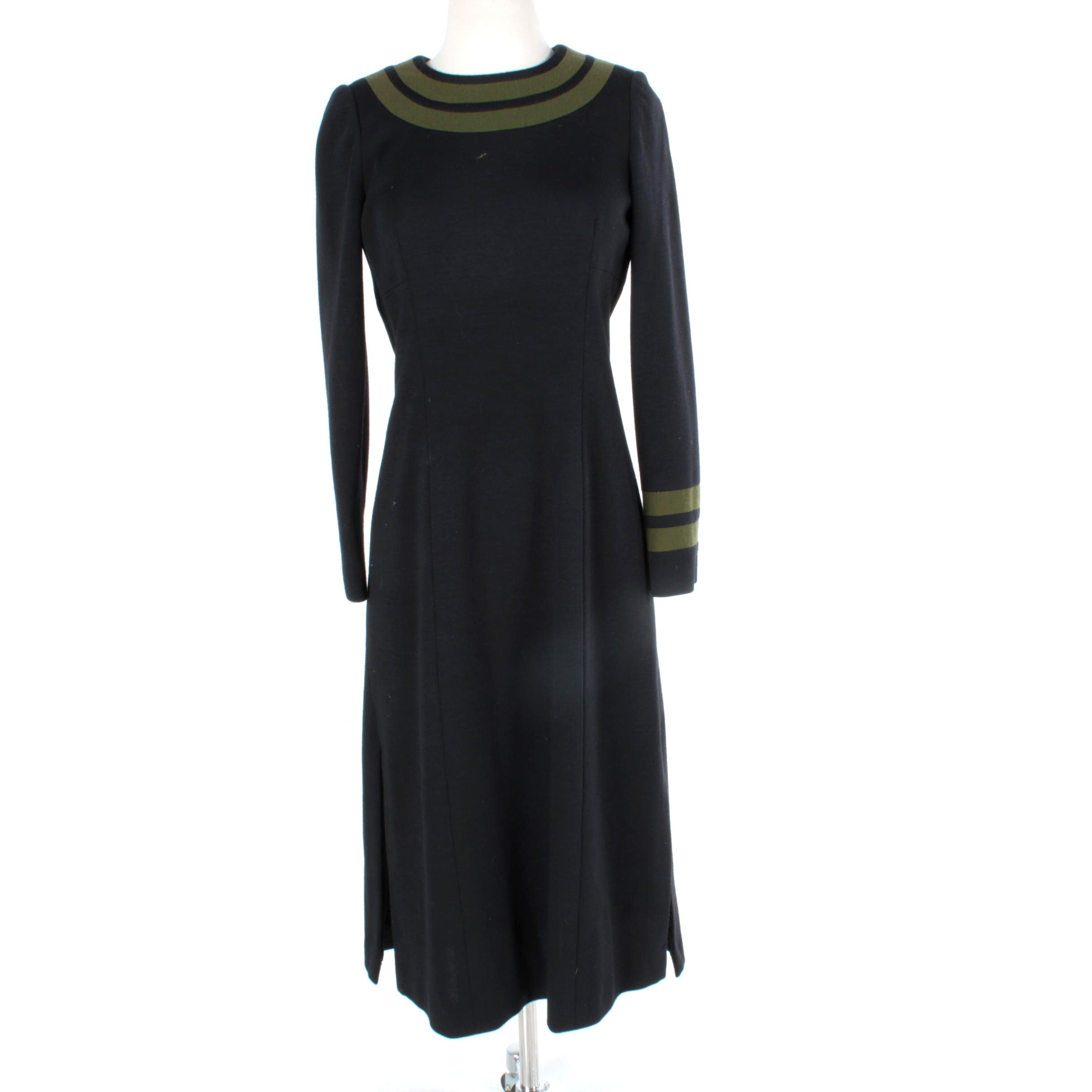 Vintage Cardinali Wool Dress