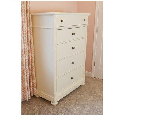 Liberty Furniture White Five Drawer Dresser
