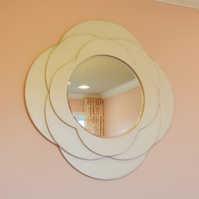 Rose Shaped Wall Mirror