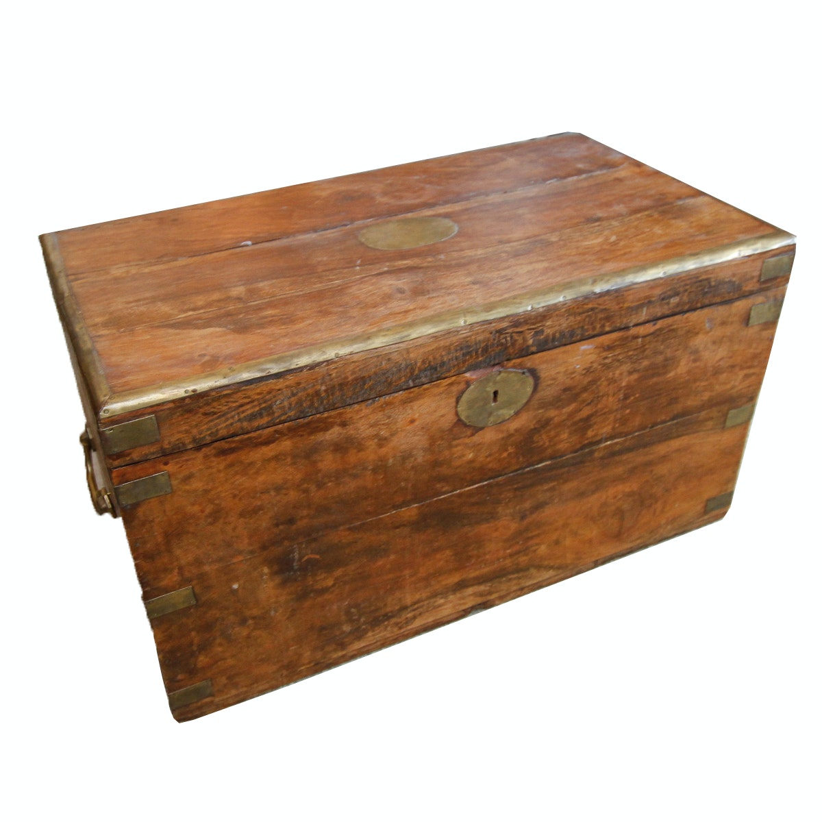 Anglo-Indian Teak Chest