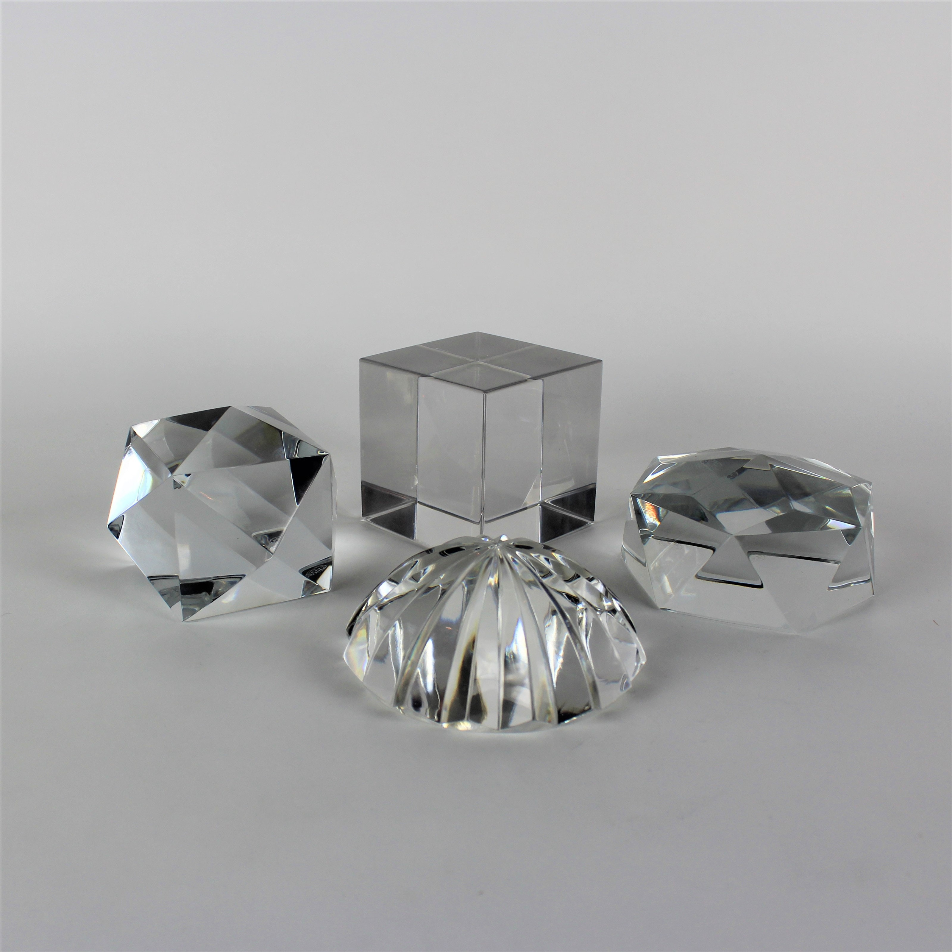 Baccarat and Val St. Lambert Paperweights