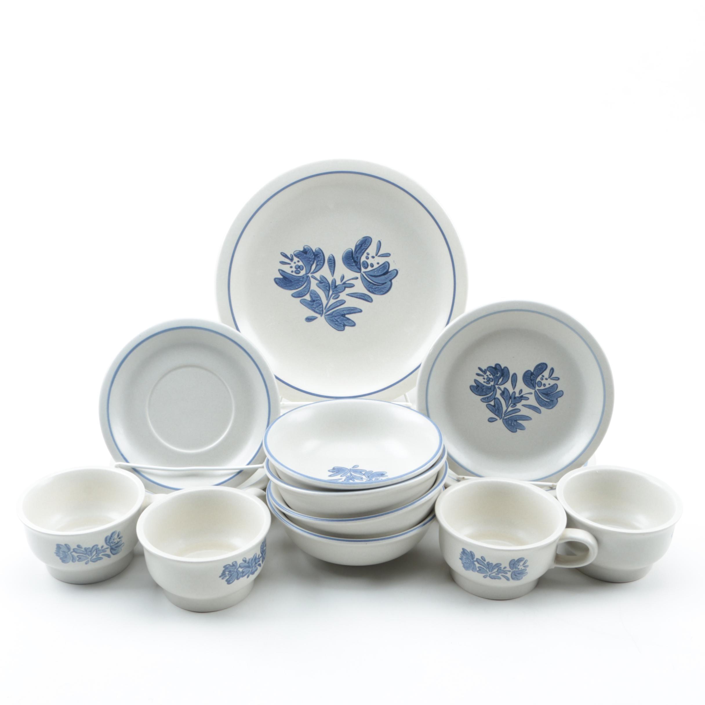 "Pfaltzgraff ""Yorktowne"" Stoneware Tableware"