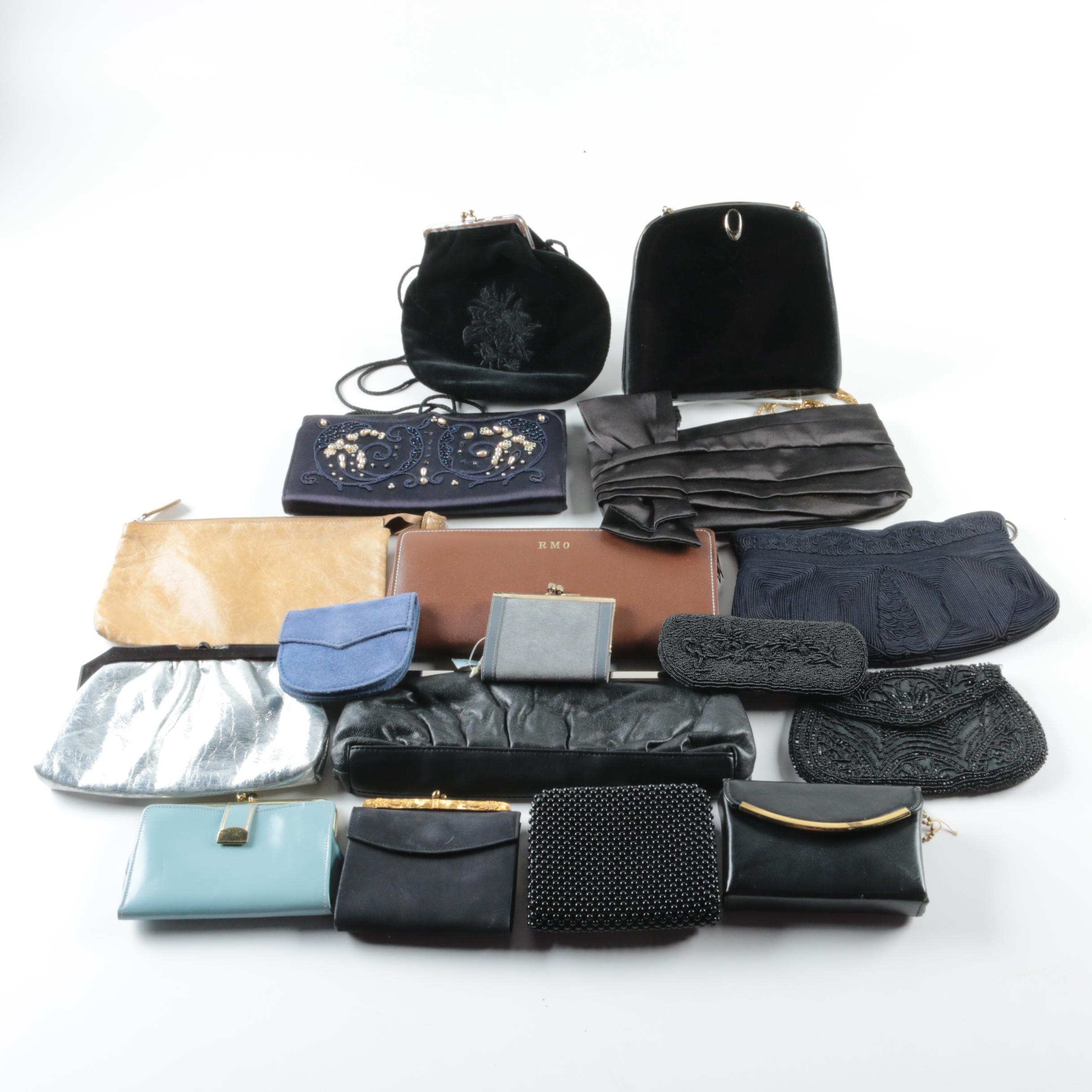 Vintage Evening Handbag, Wallet and Accessory Collection