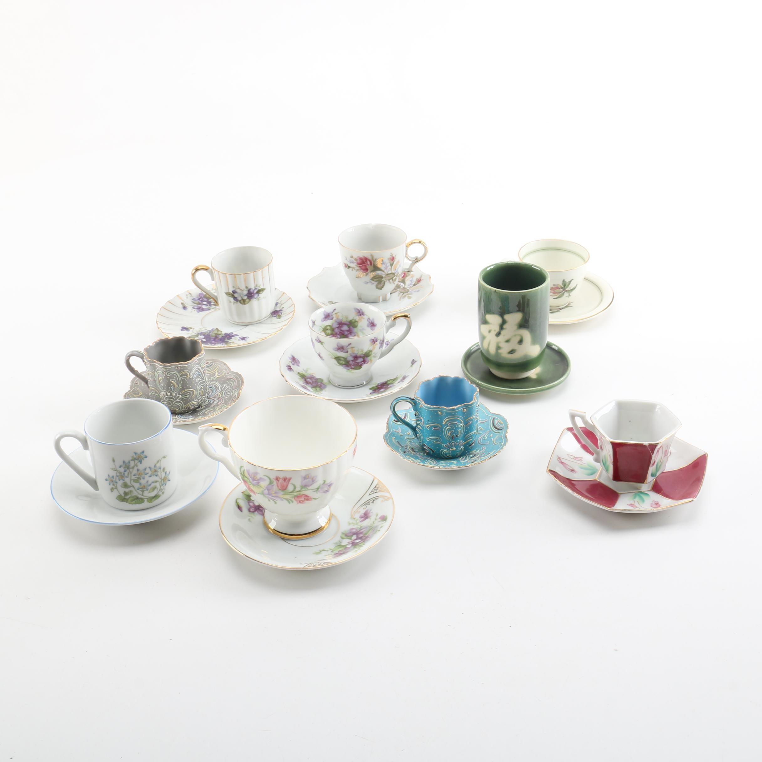 Vintage Porcelain and Ceramic Tableware Featuring Ardalt Japan