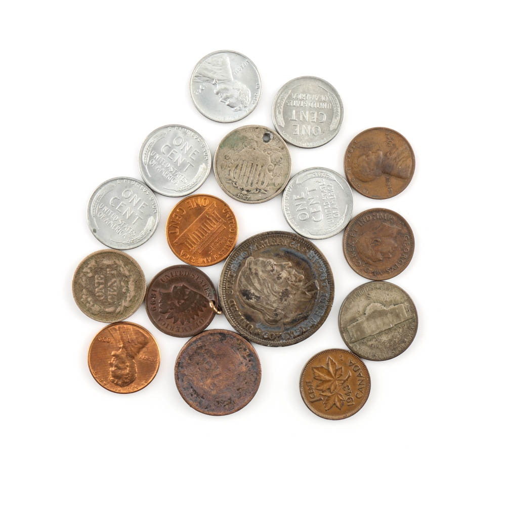 Assortment of Antique and Vintage U.S. Coins