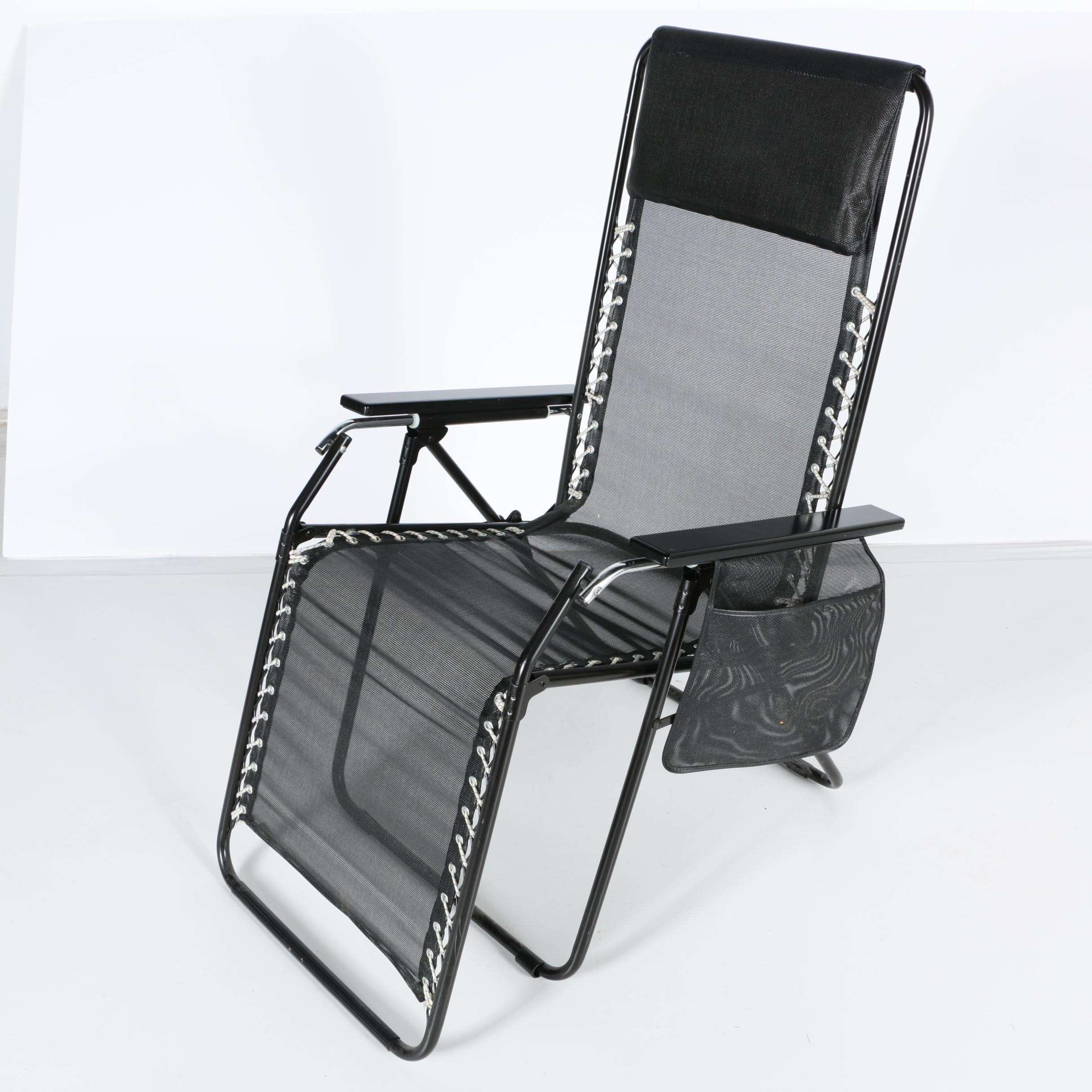 Folding Chaise Lounge Chair by Batyline