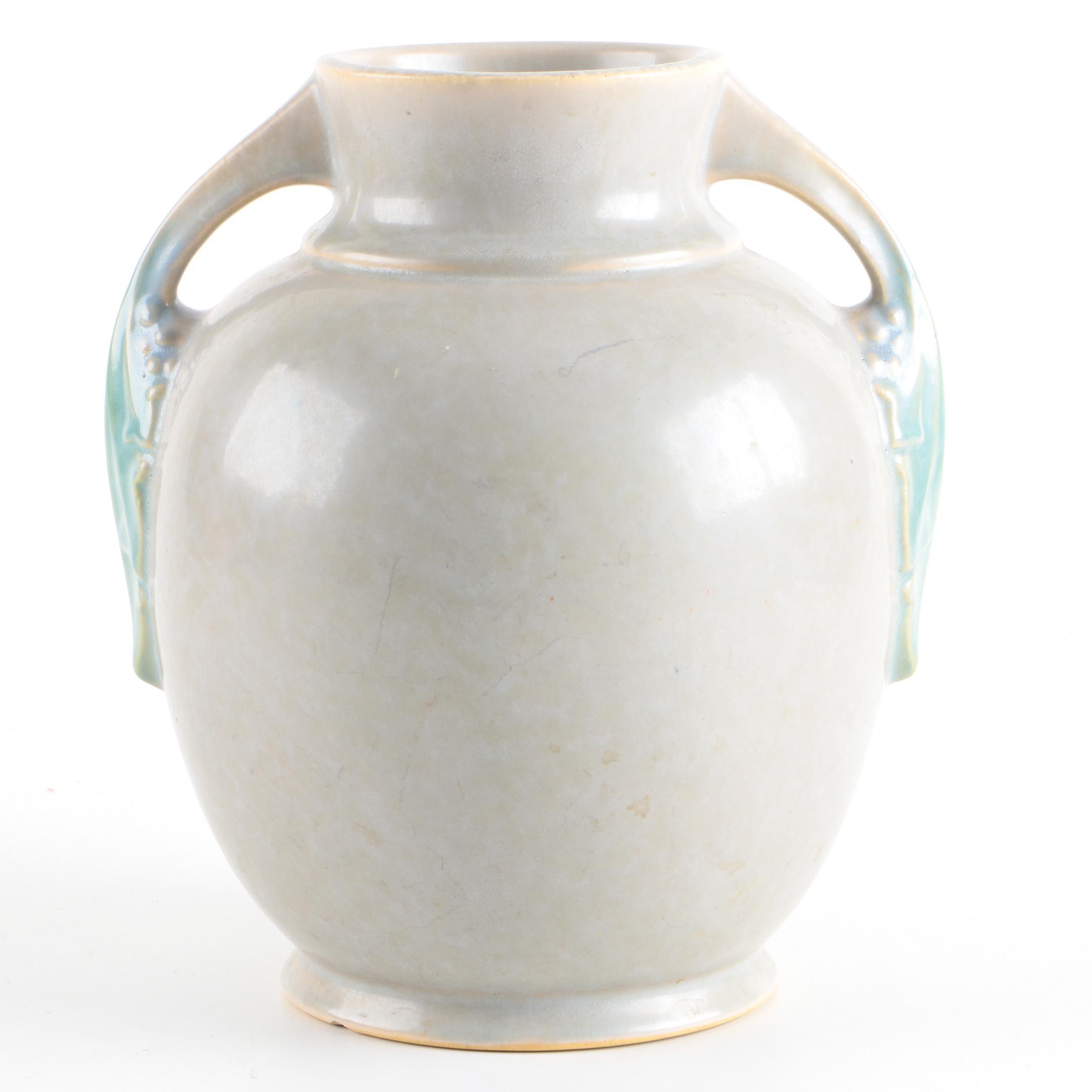 "Roseville ""Tuscany"" Vase"