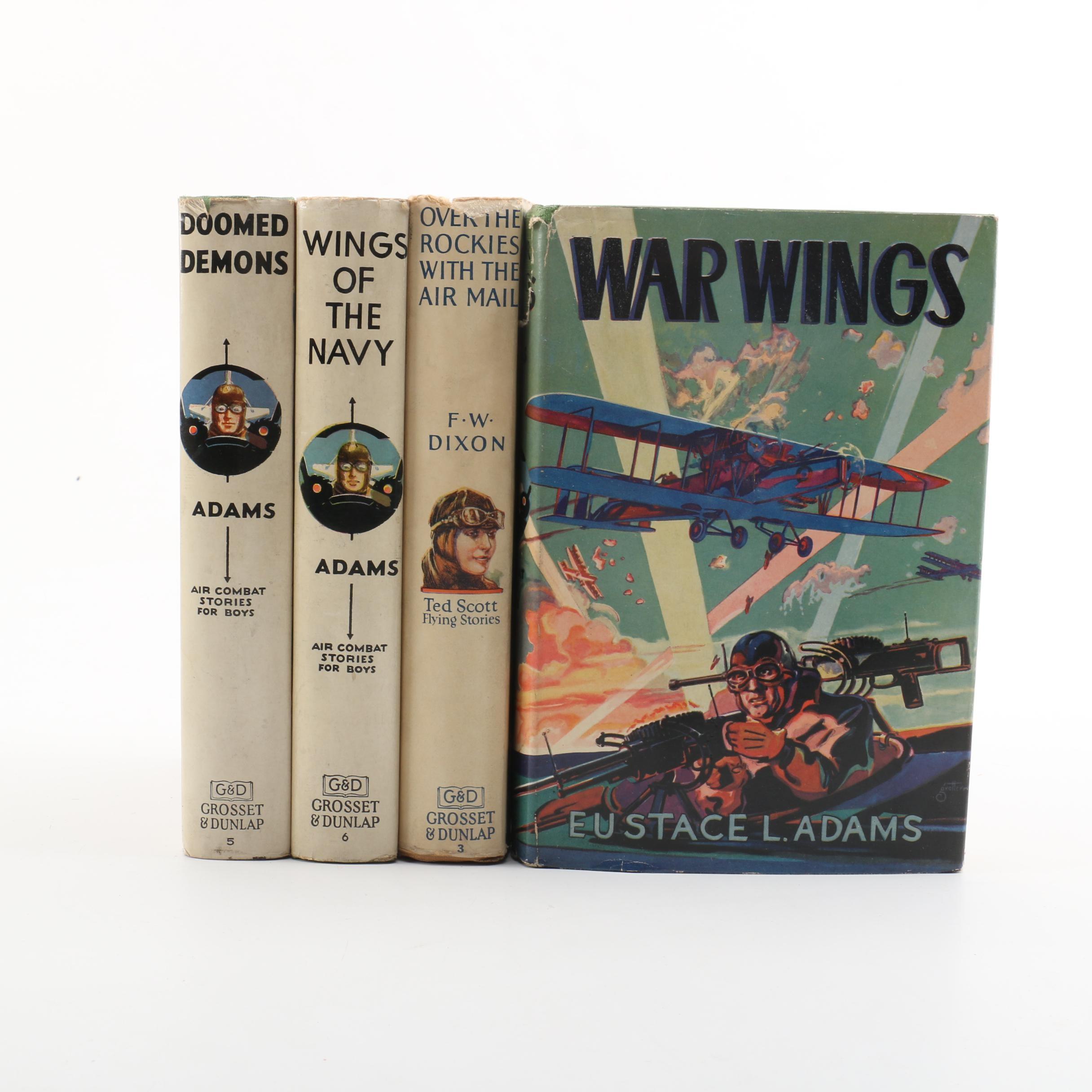 1920s-1930s Adventure Novels by Eustace L. Adams