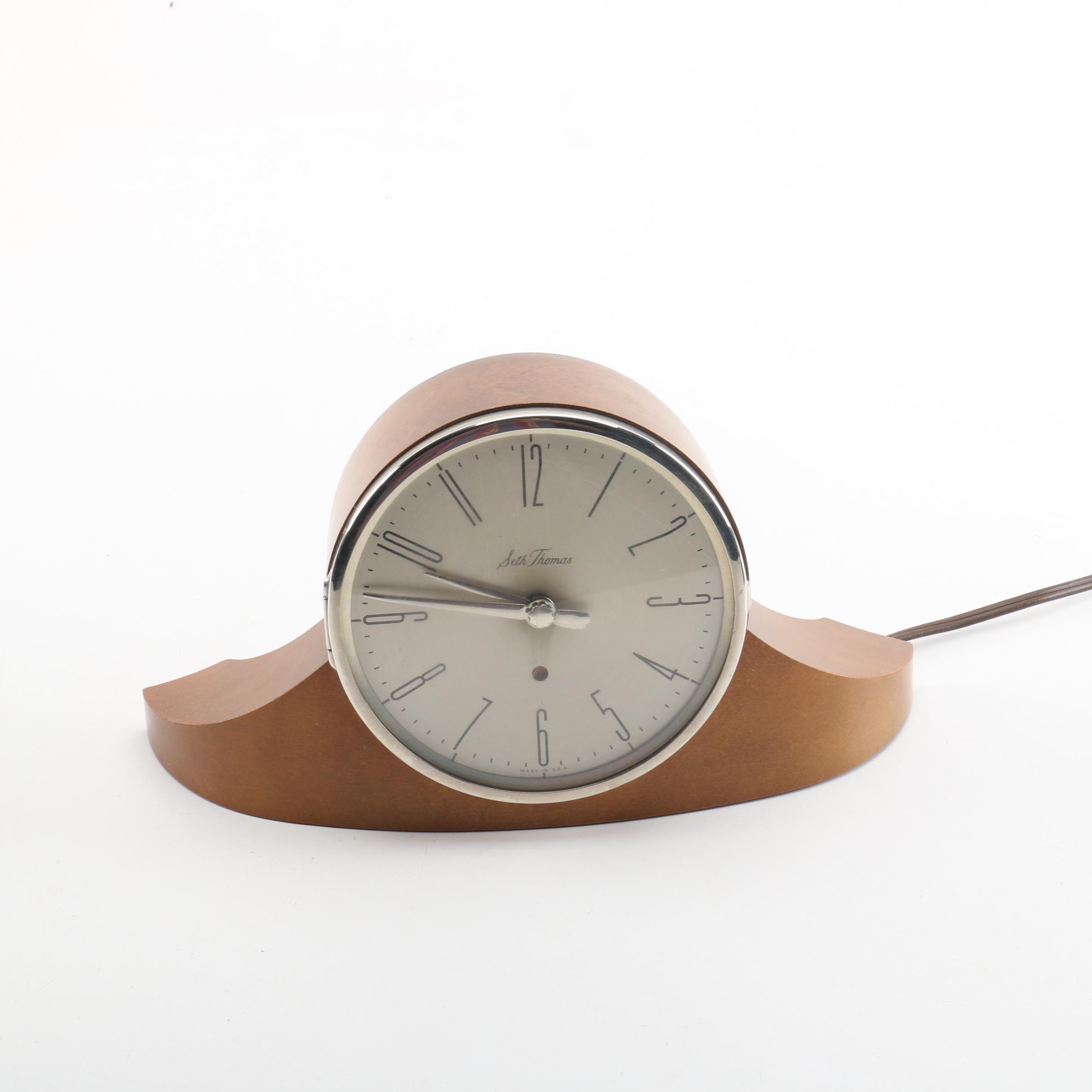 Seth Thomas Art Deco Mantel Clock