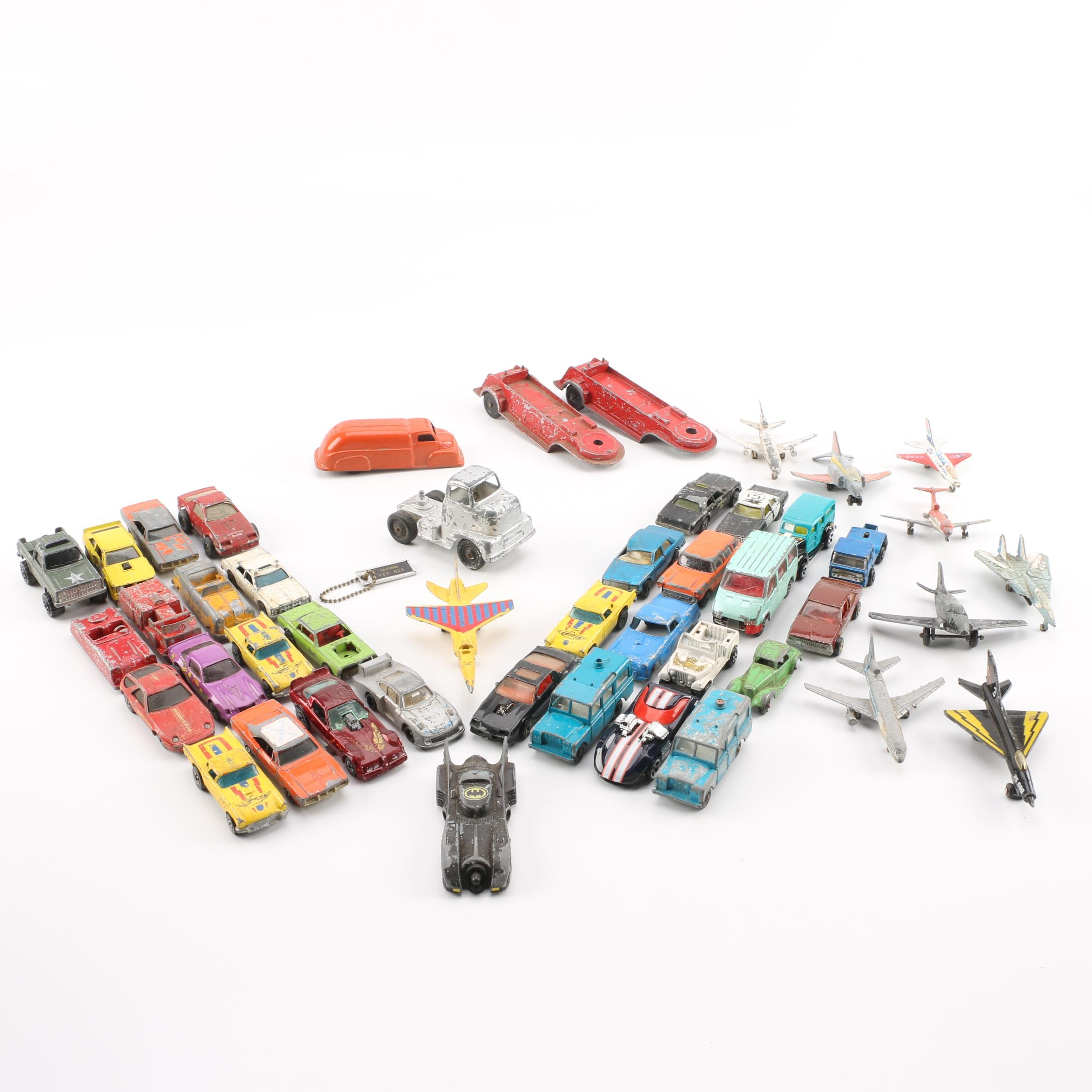 Vintage Die-Cast Cars, Trucks, and Planes