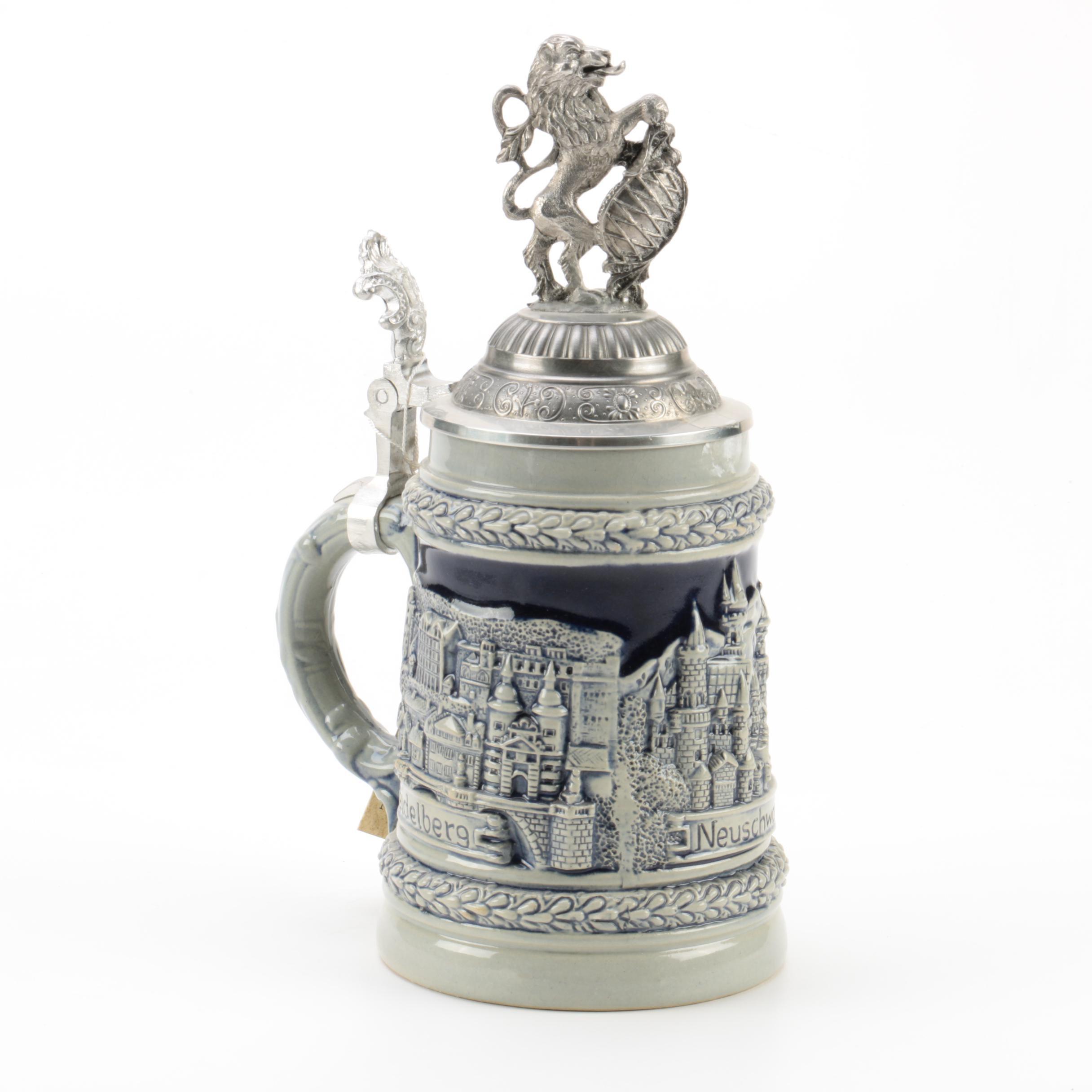 Limited Edition Zöller & Born Ceramic Beer Stein