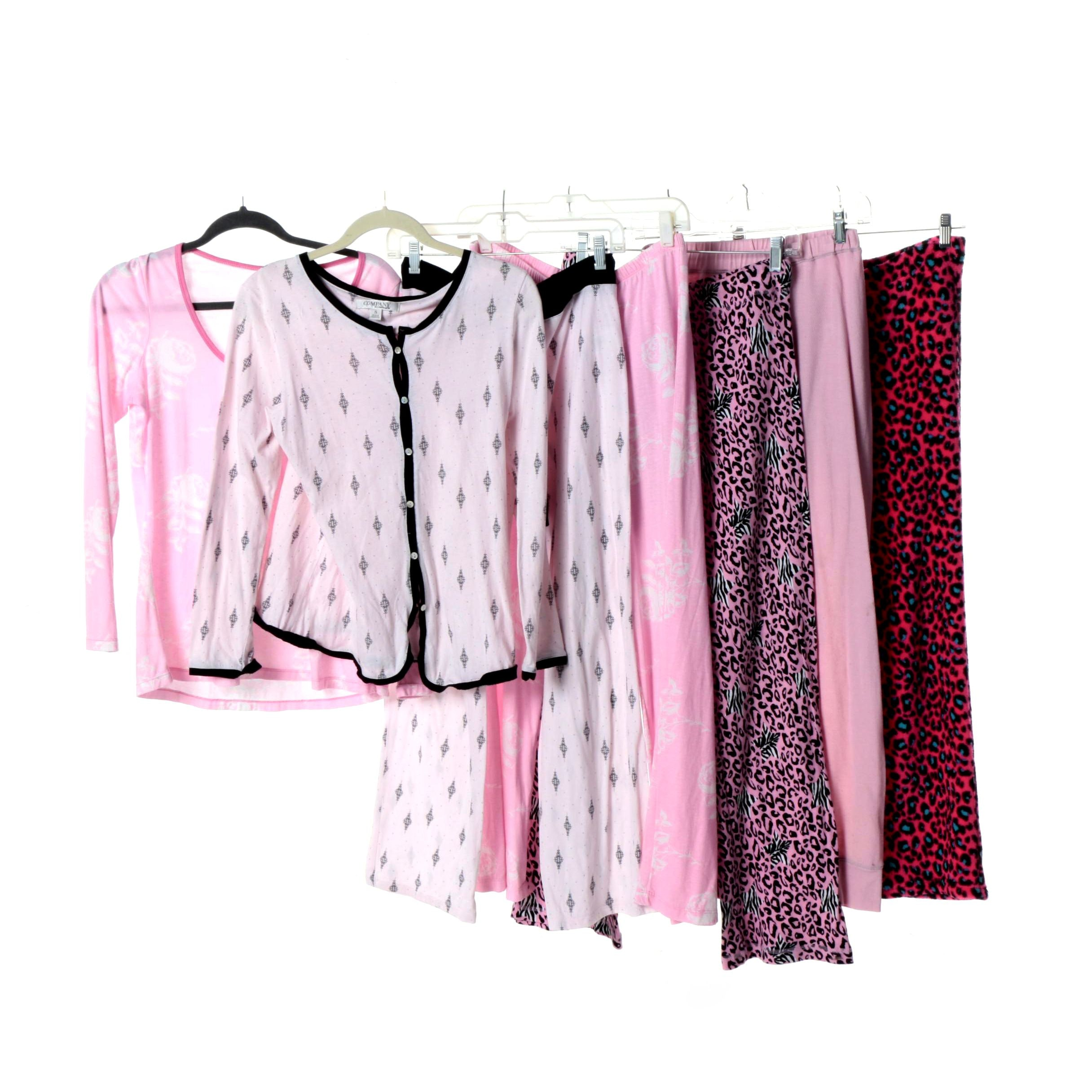 Women's Sleepwear Including Sweet Tart and Company Ellen Tracy