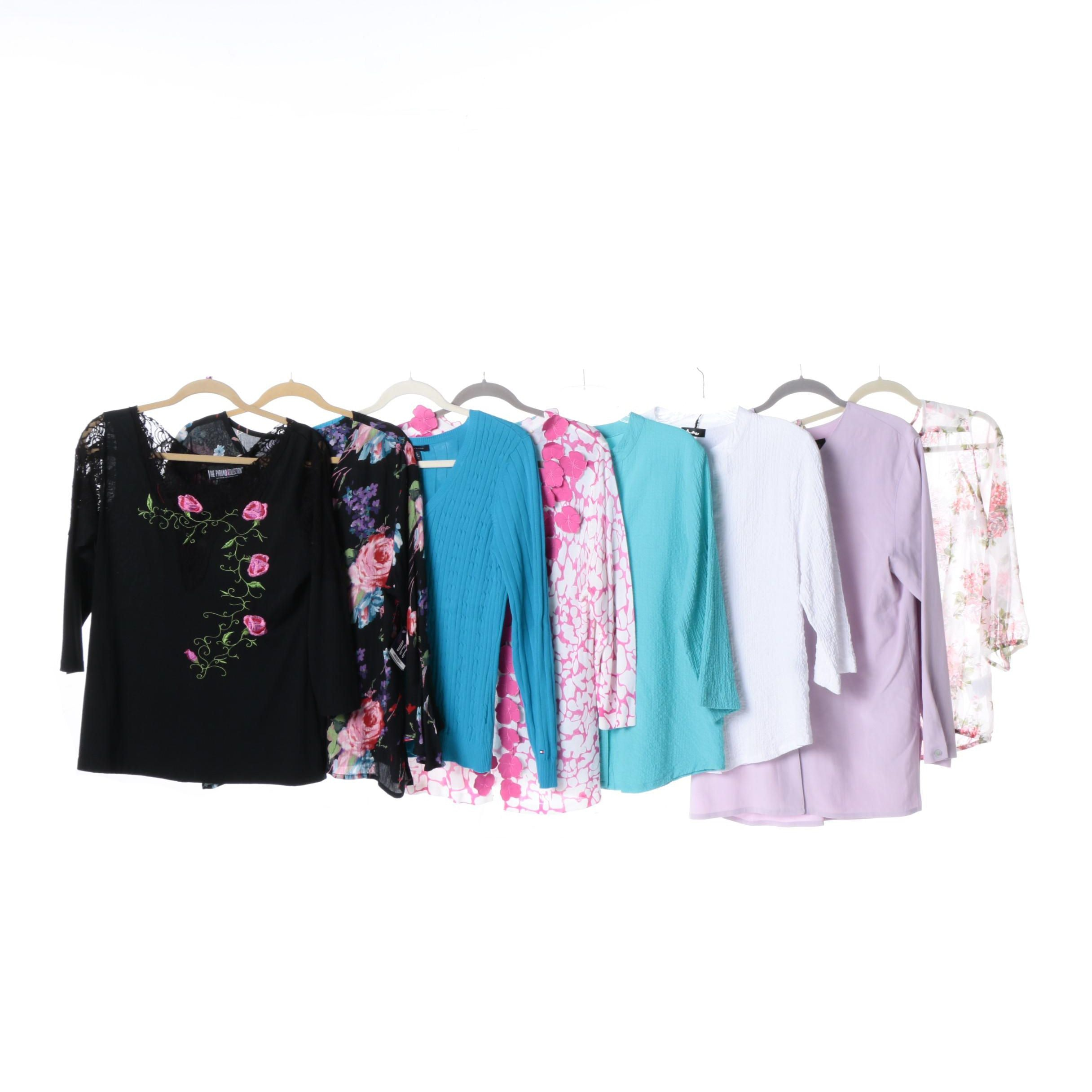 Women's Assorted Tops and Knits Including Tommy Hilfiger