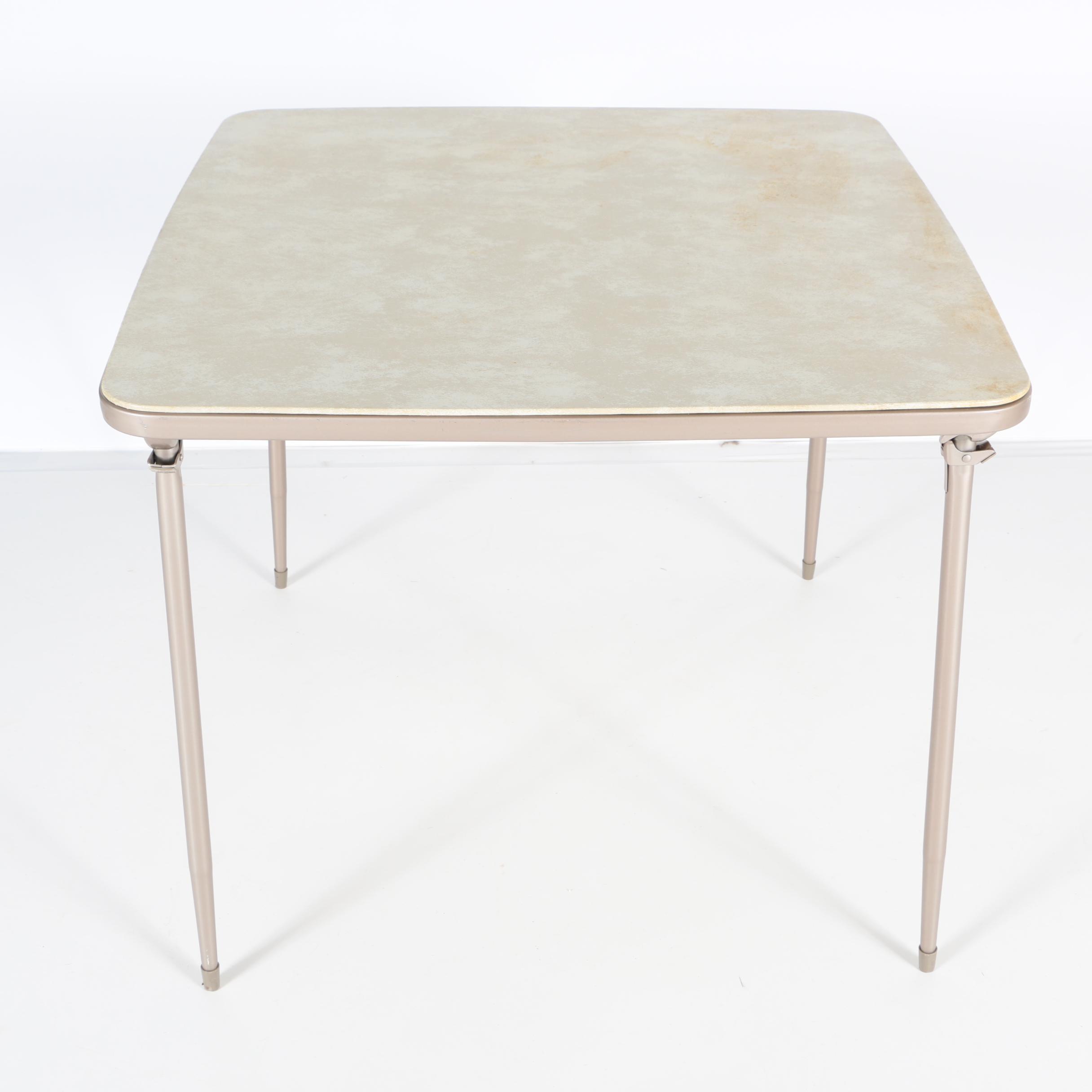 Folding Card Table by Samsonite