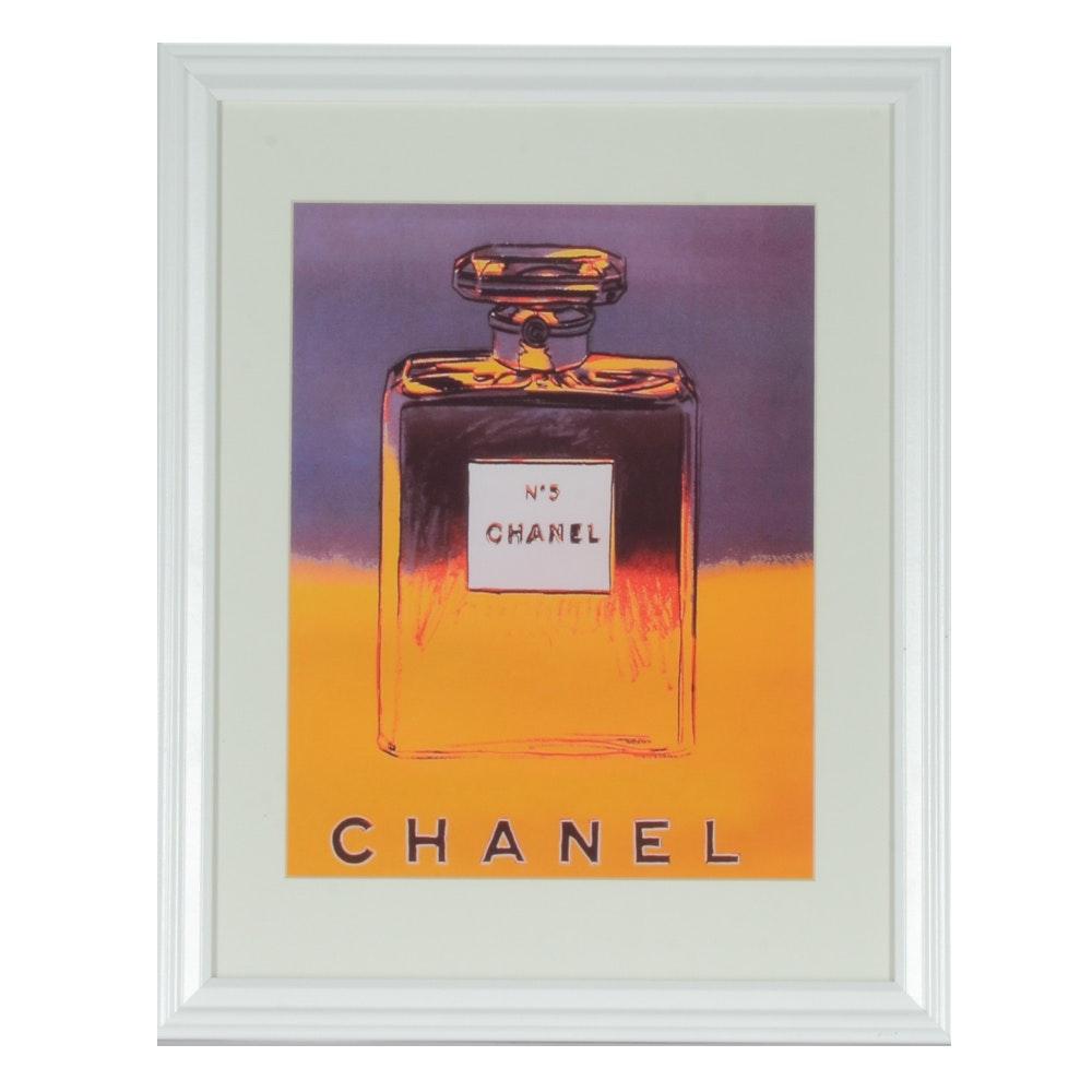 "Andy Warhol Giclée Print ""Chanel No. 5"""