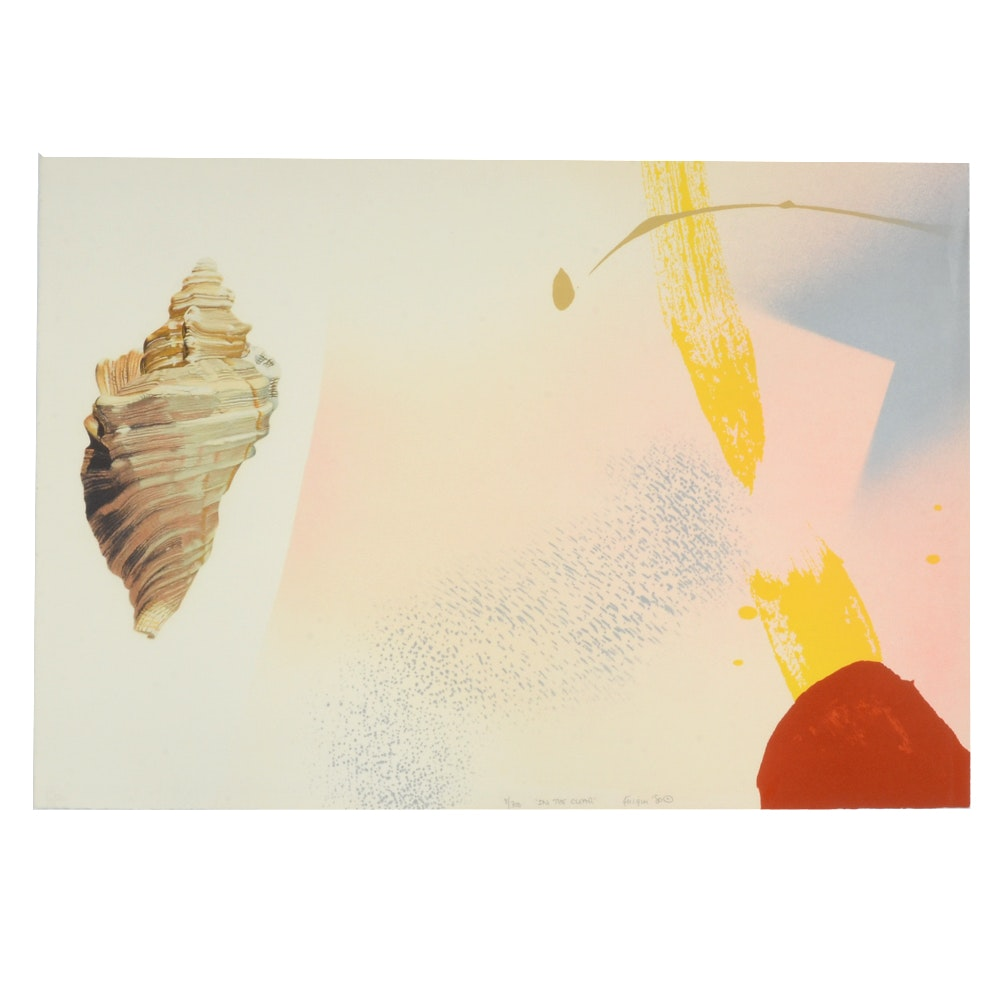 """Michael Knigin 1980 Signed Limited Edition Serigraph Print """"In the Clear"""""""