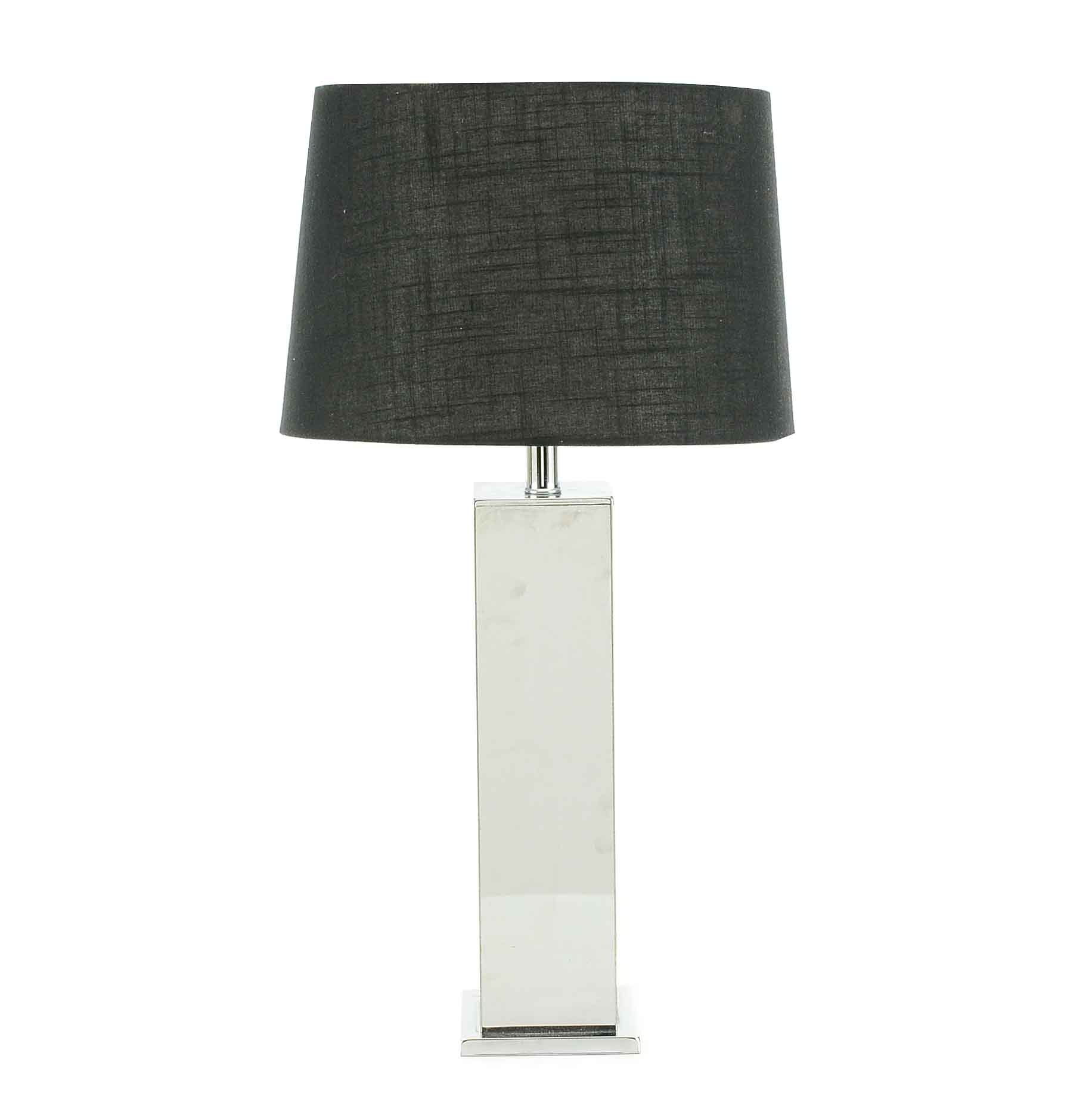 Modernist Chrome Table Lamp