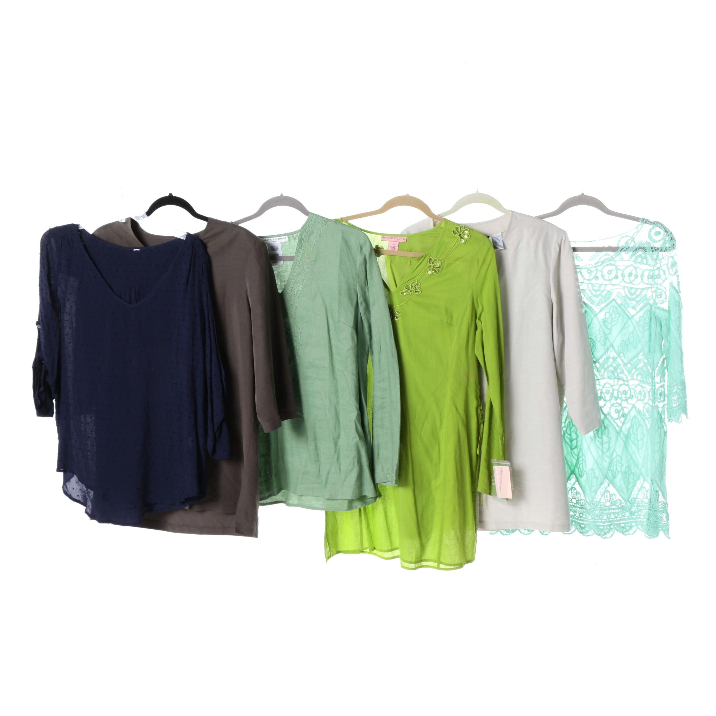 Women's Casual Blouses, Tops and Tunics