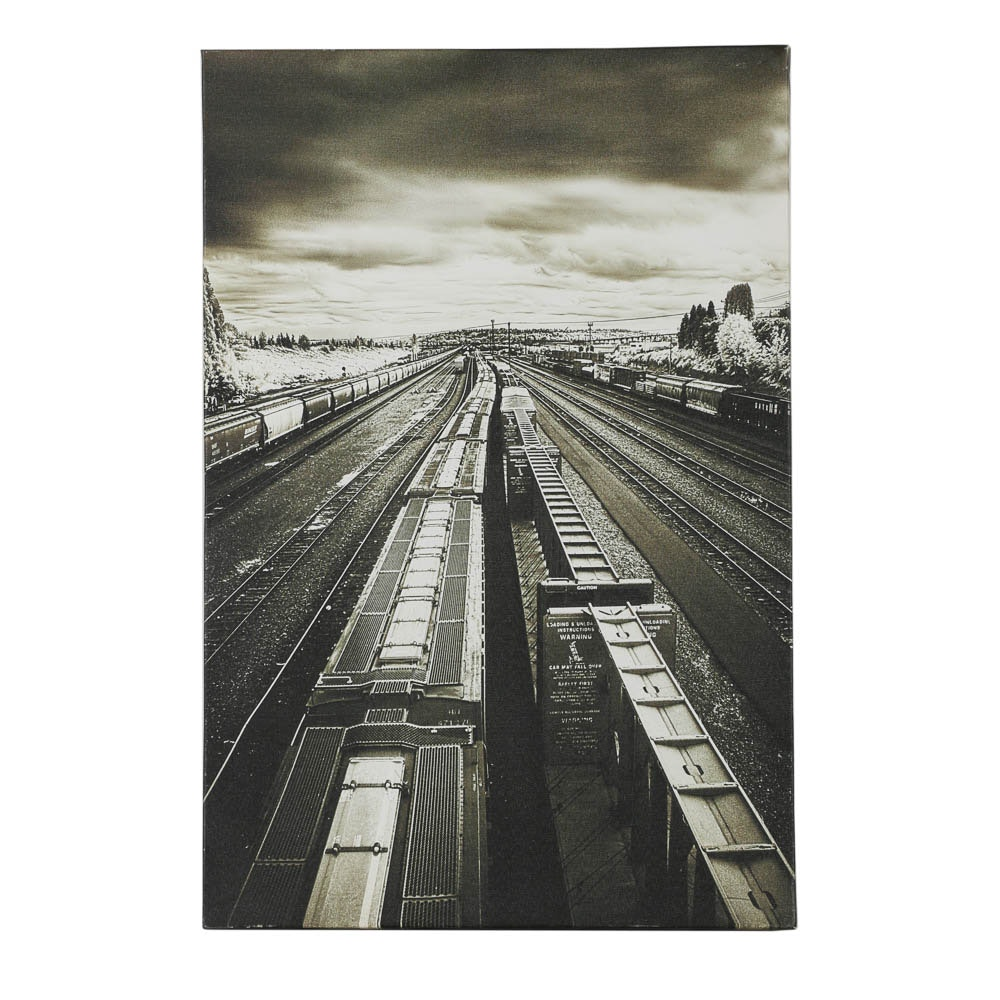 Aaron Morris Giclee of Railroads