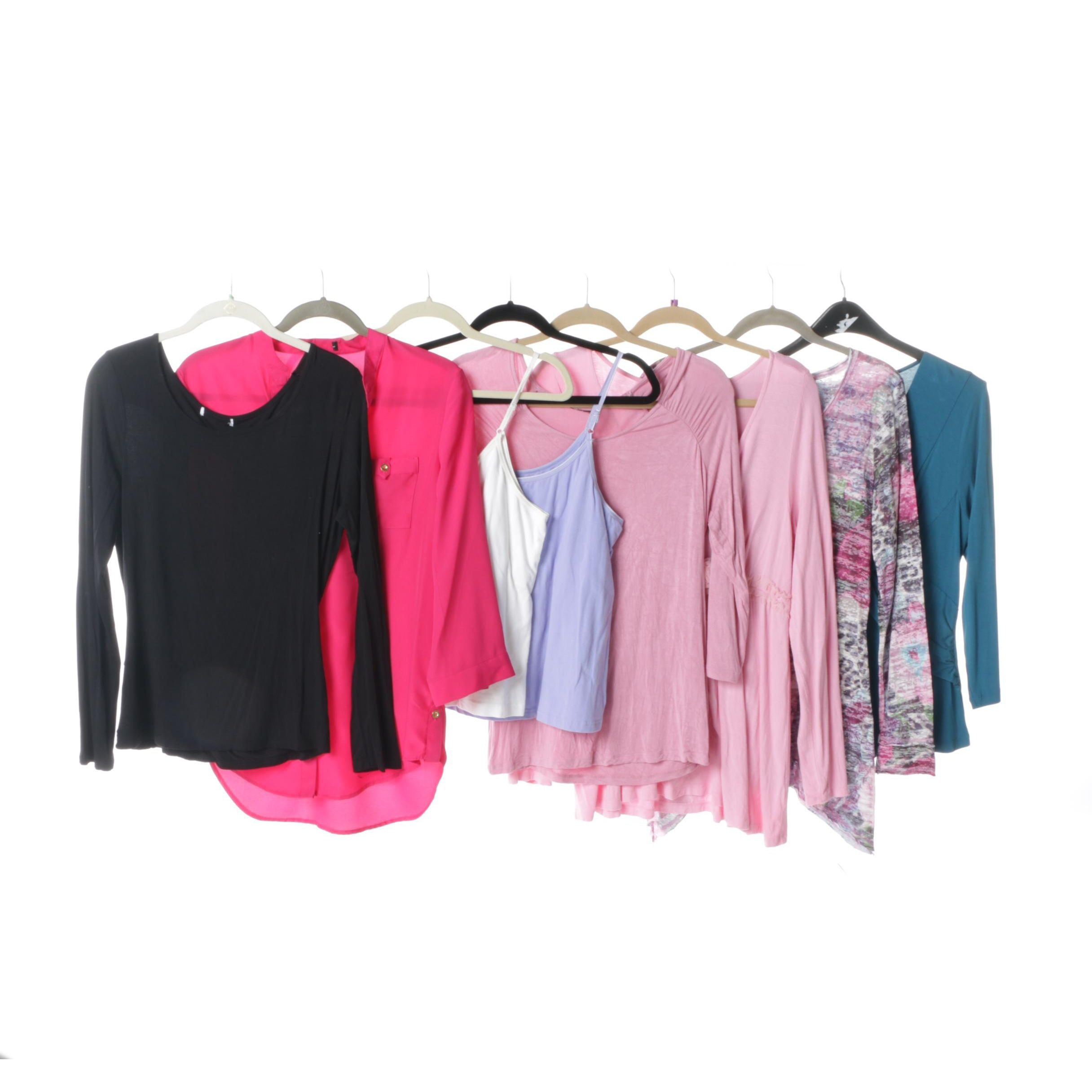 Women's Shirts and Camisoles Including Cynthia Rowley