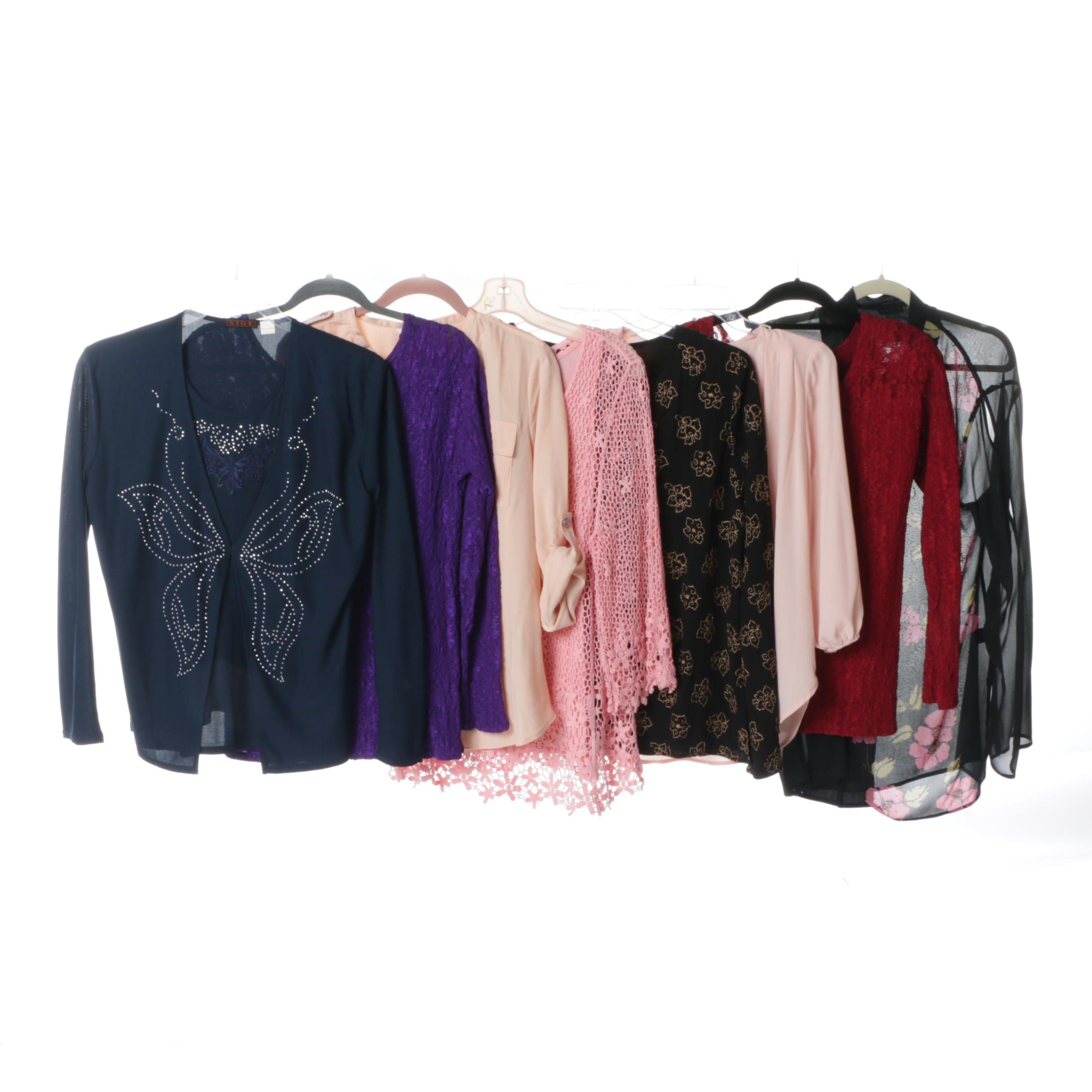 Women's Contemporary Top Separates