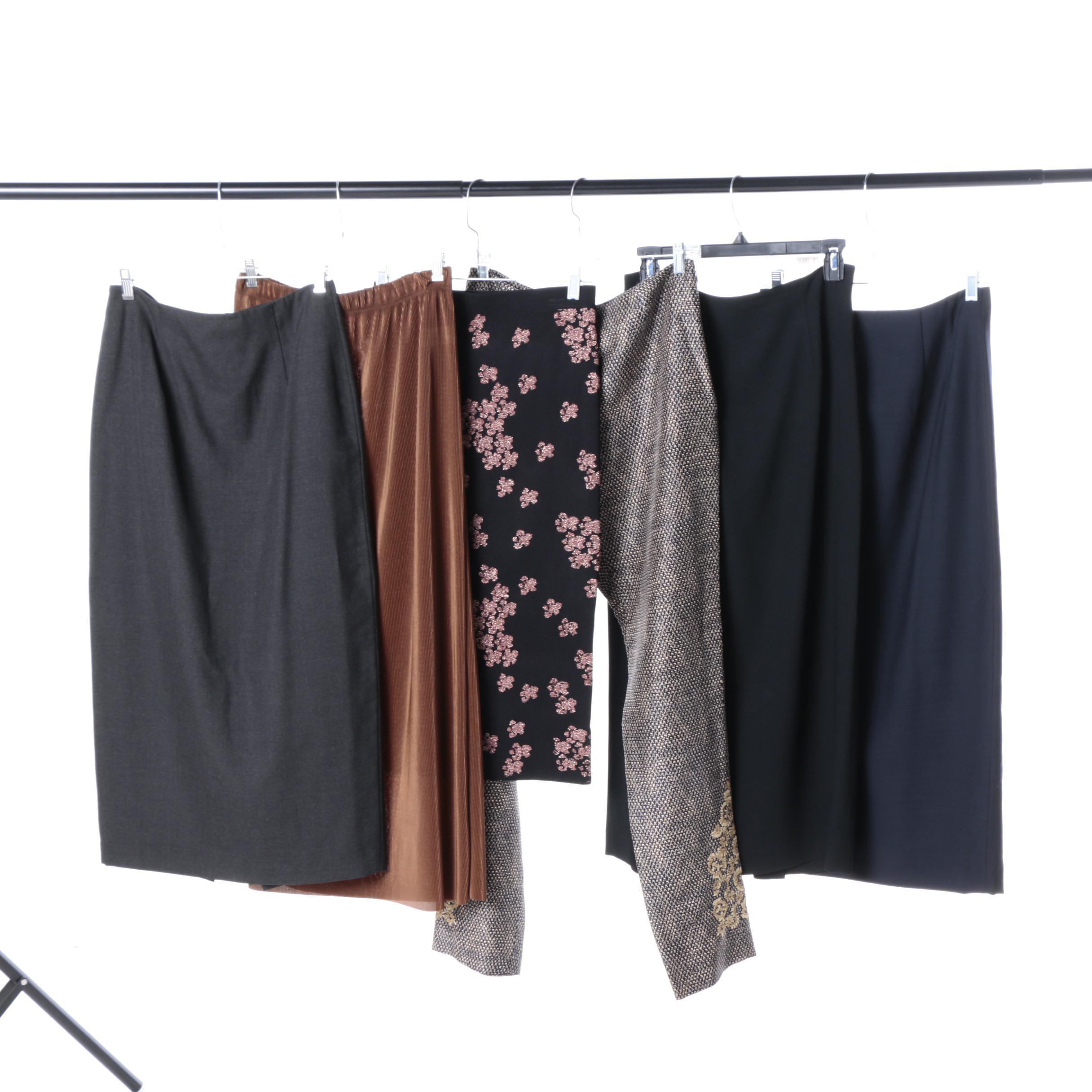 Casual Skirts and Dana Buchman Slacks