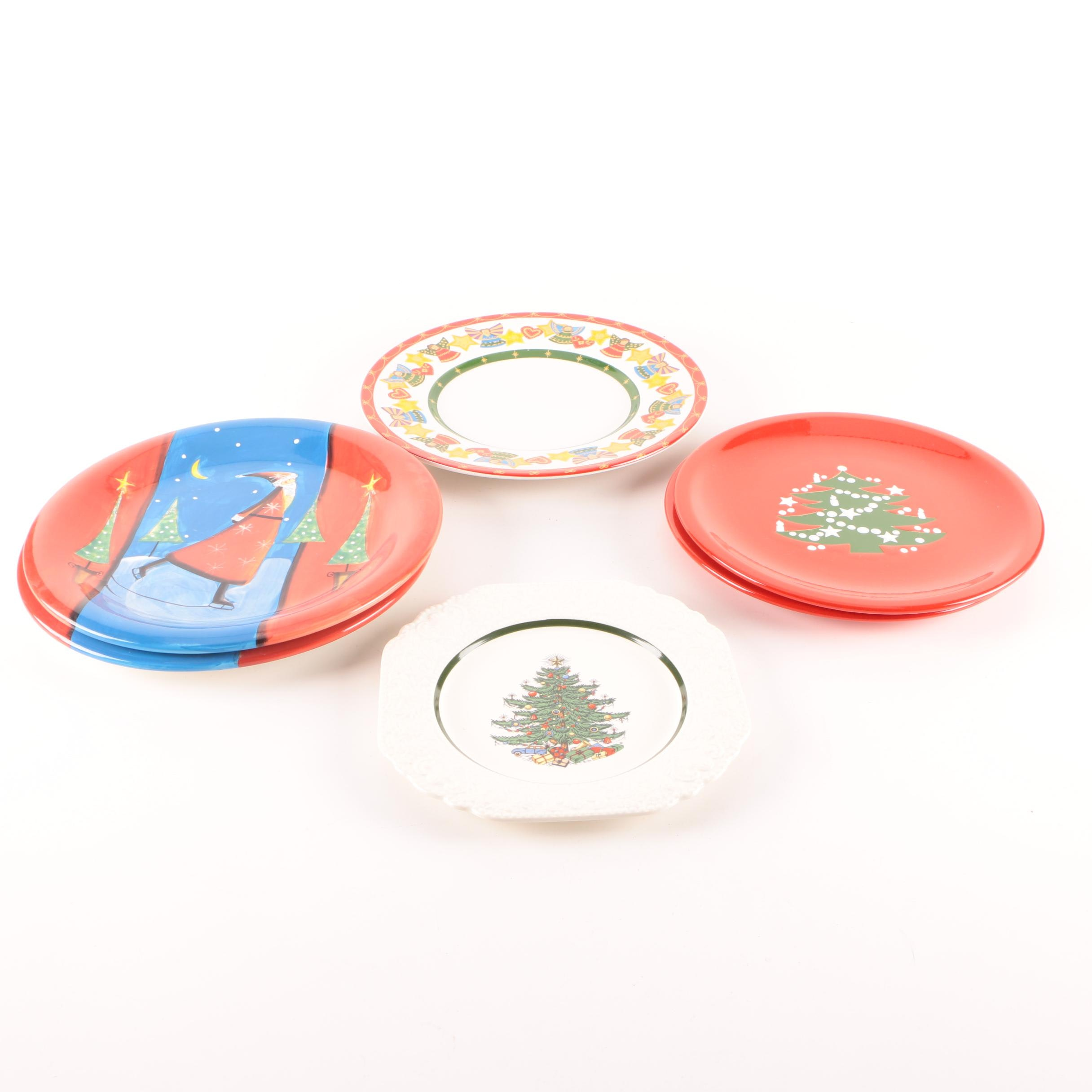 Christmas Ceramic Tableware Featuring Cuthbertson
