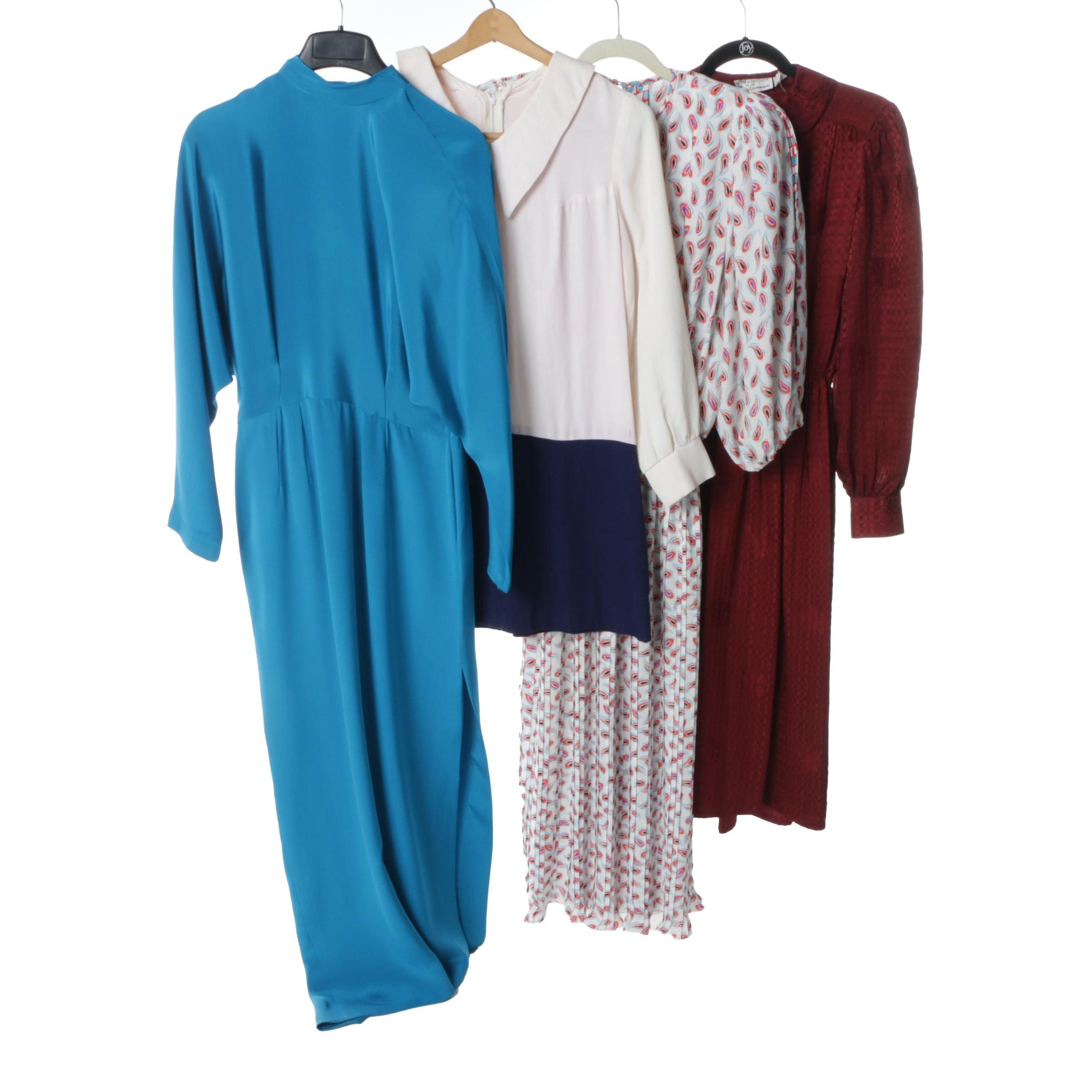 Women's 1980s Vintage Dresses Including Diane Freis