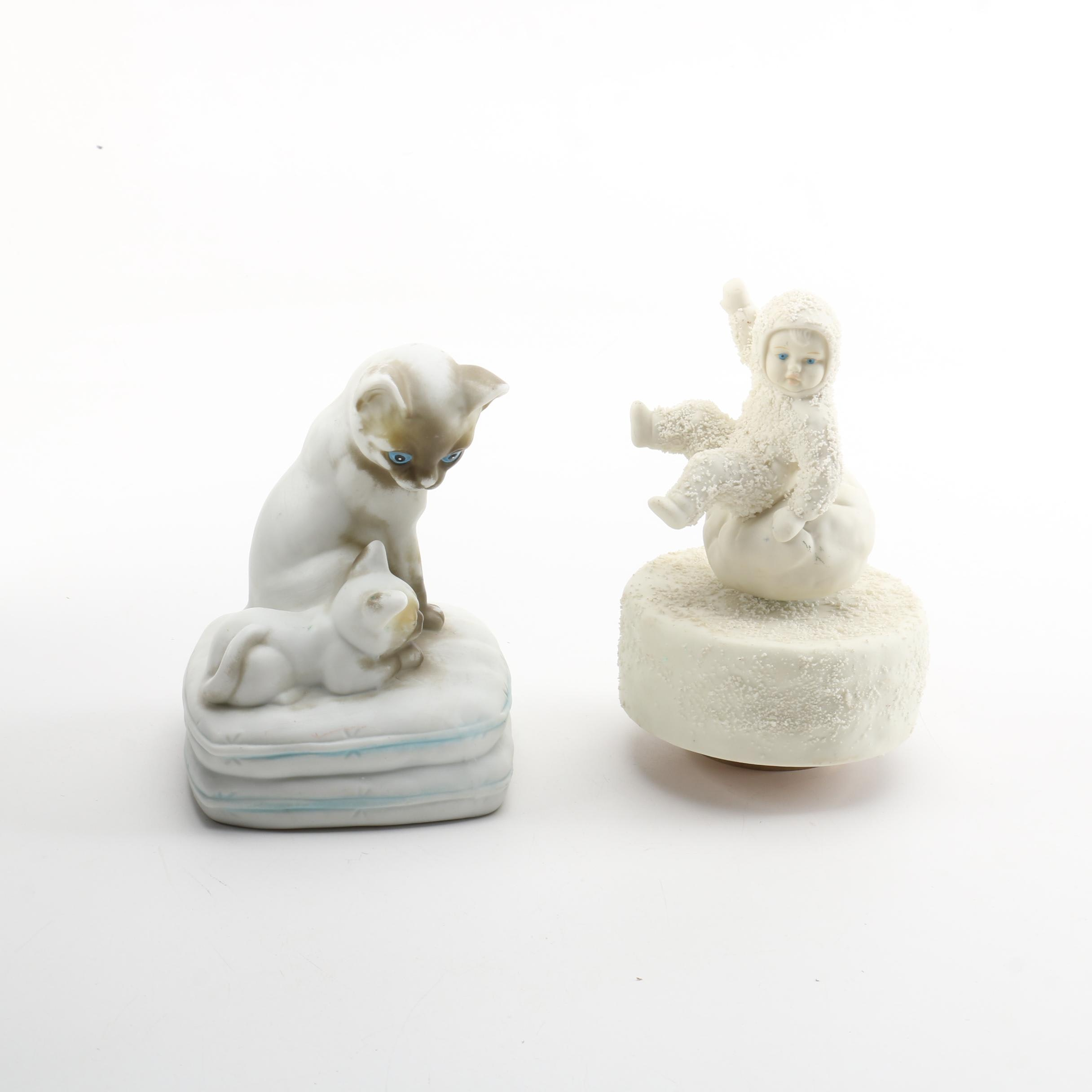 Musical Ceramic Figurines