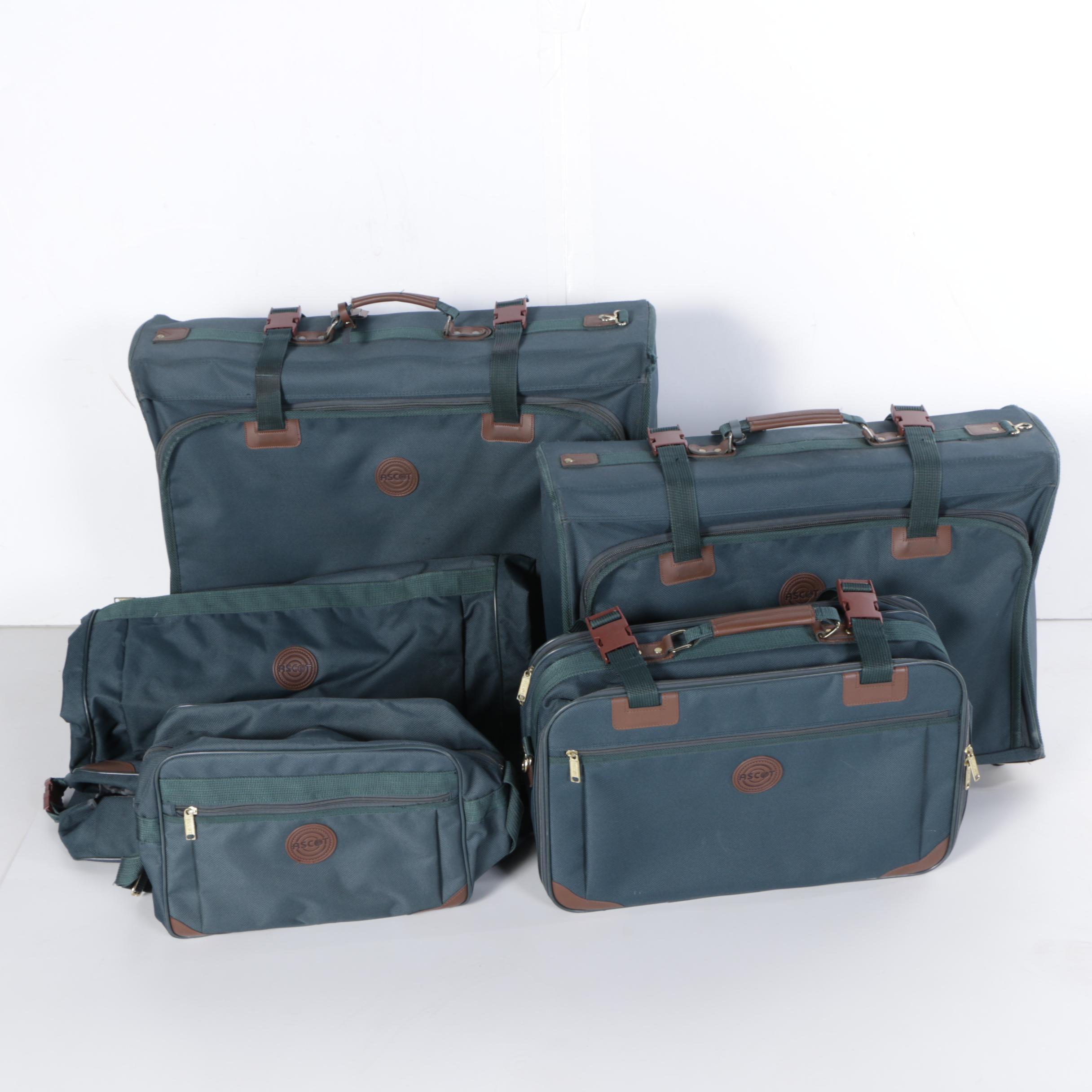 Ascot Five Piece Luggage Set