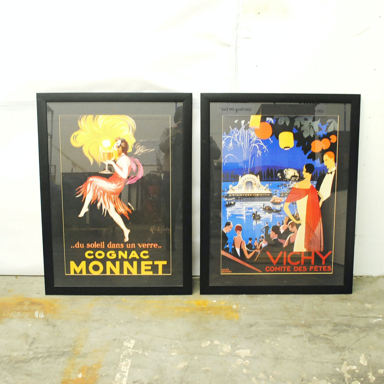 Offset Lithographic Reproductions after Leonetto Cappiello and Roger Broders