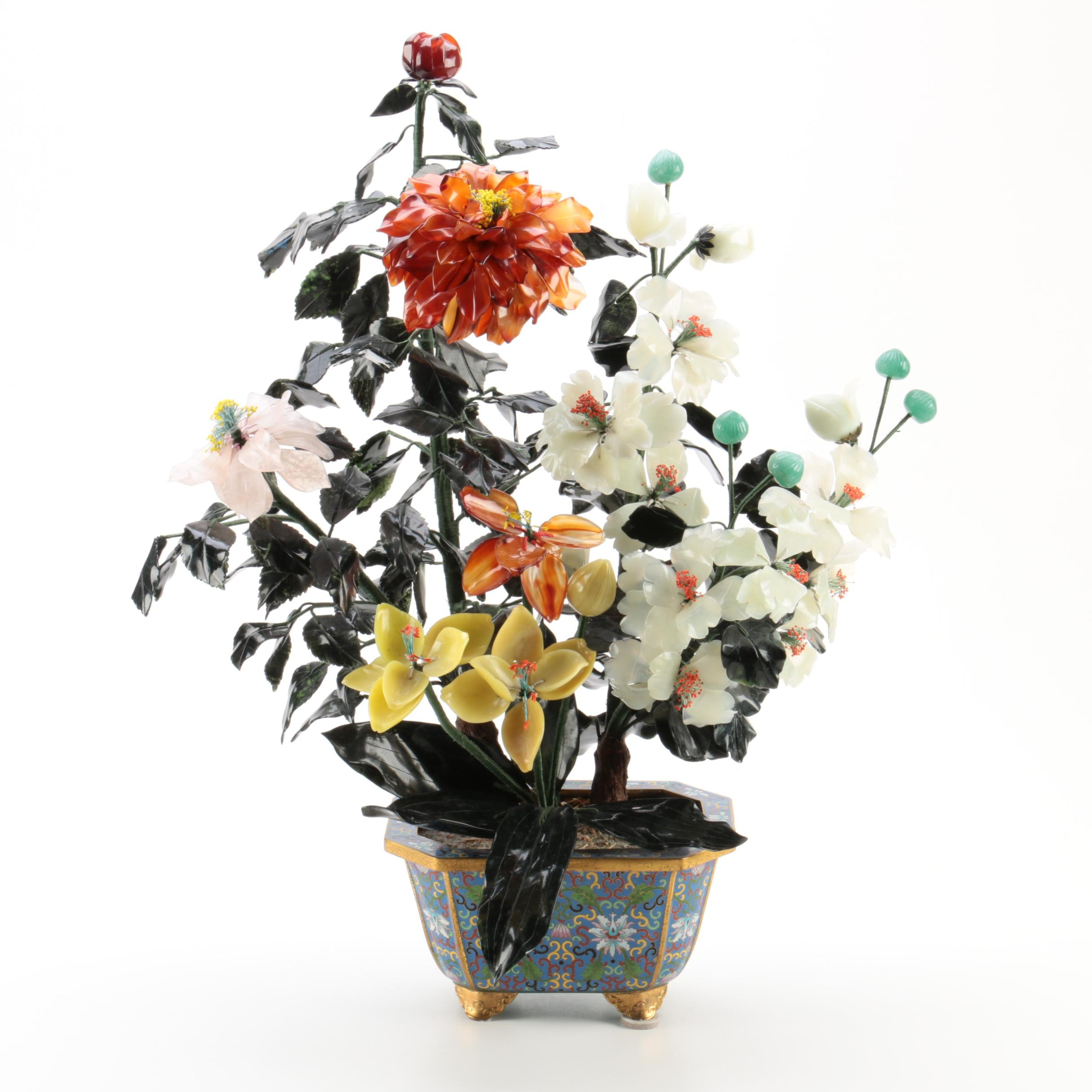Stone Floral Arrangement
