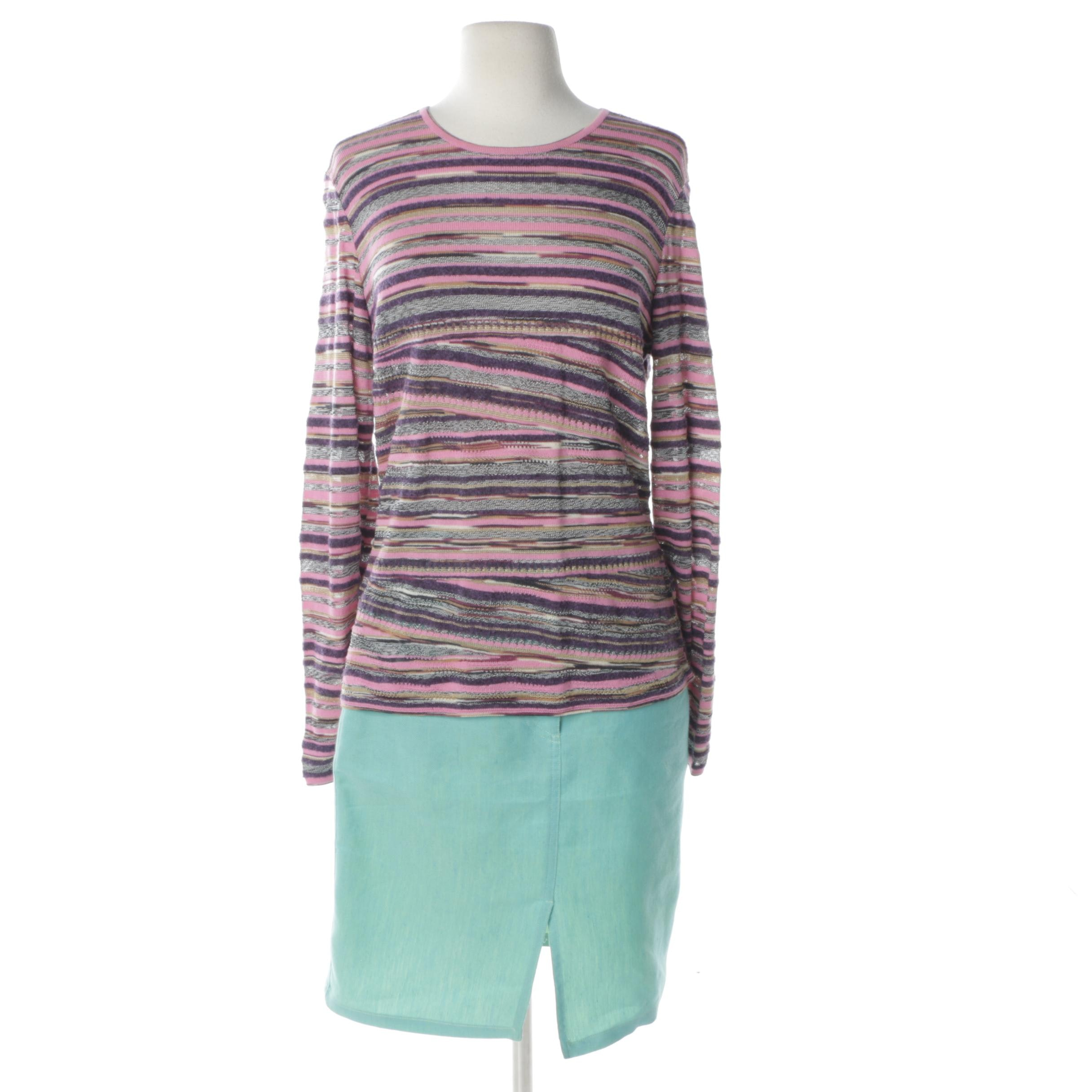 M Missoni Sweater and Skirt