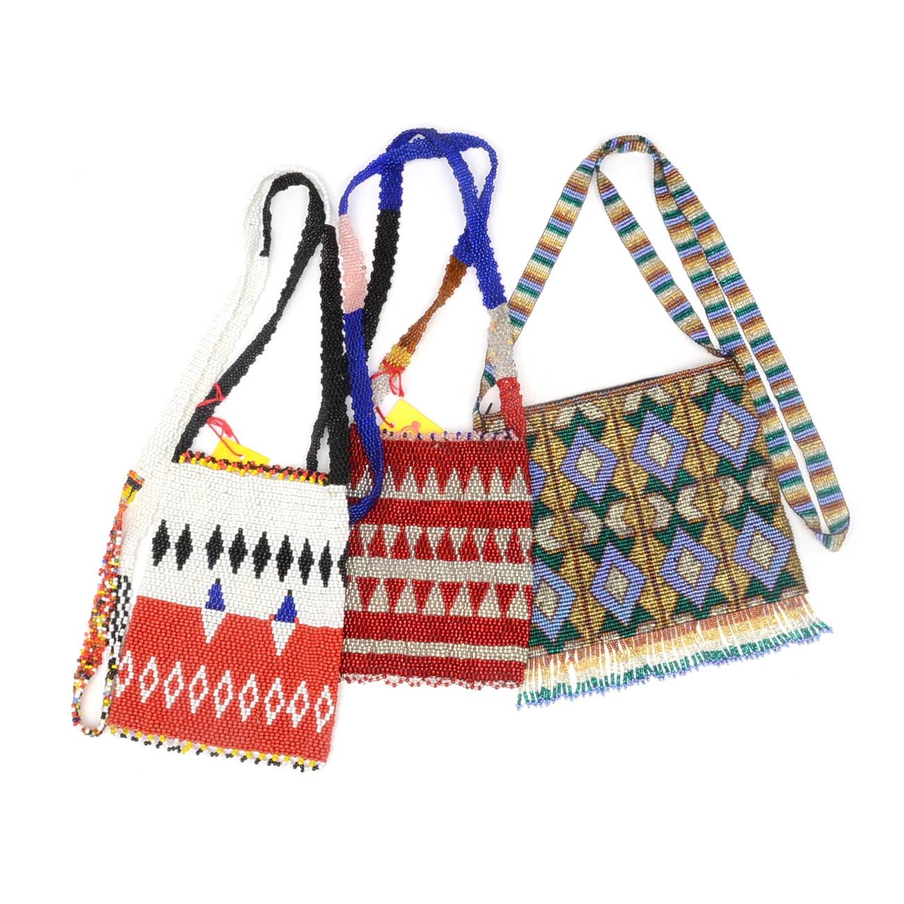 Collection of Hand Beaded Handbags